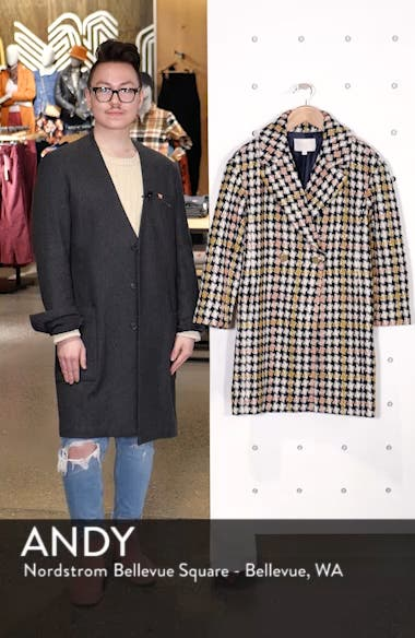 Collection Oversize Lurex<sup>®</sup> Tweed Coat, sales video thumbnail