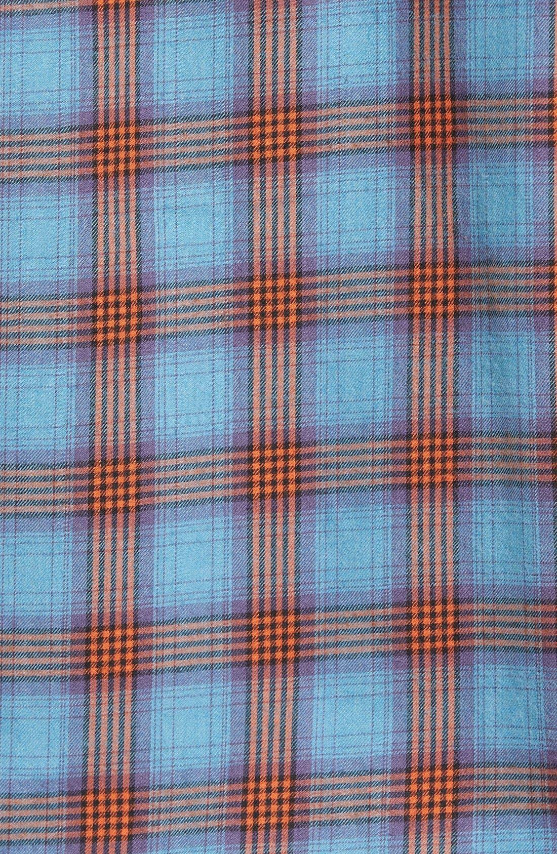 Burner Regular Fit Plaid Flannel Shirt,                             Alternate thumbnail 7, color,                             401