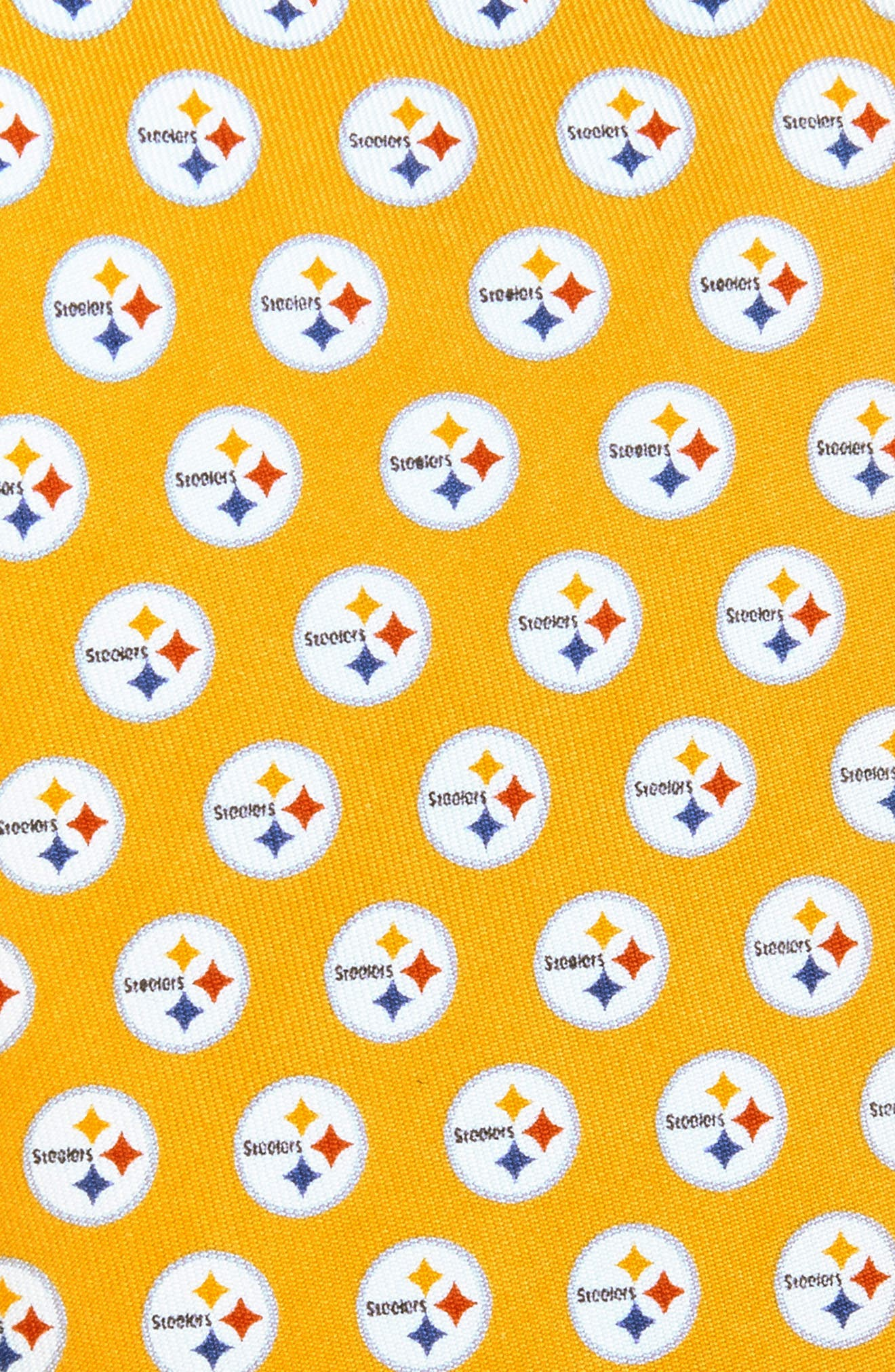 'Pittsburgh Steelers - NFL' Woven Silk Tie,                             Alternate thumbnail 2, color,                             720