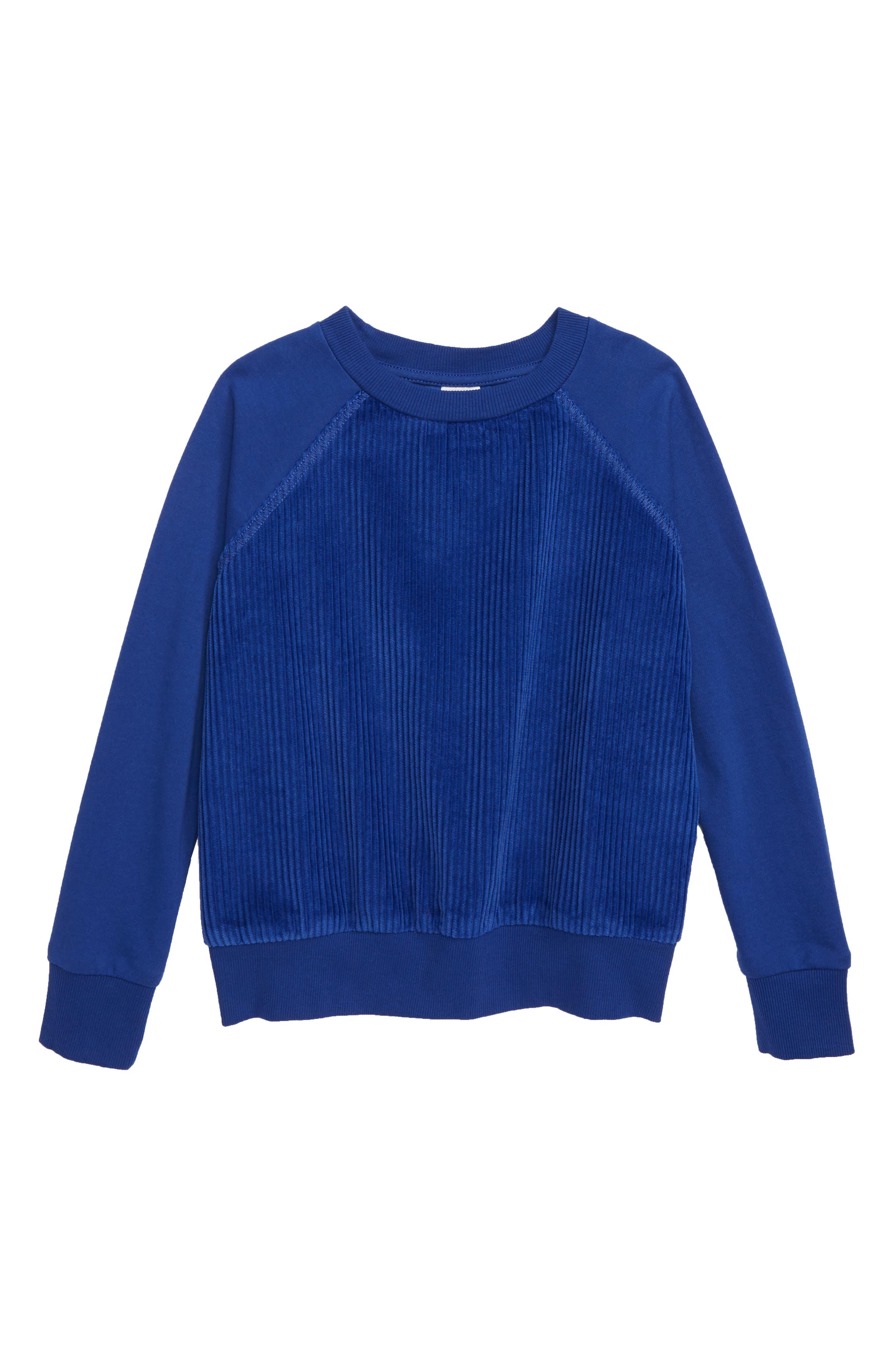 Corduroy Sweatshirt,                             Main thumbnail 1, color,                             401