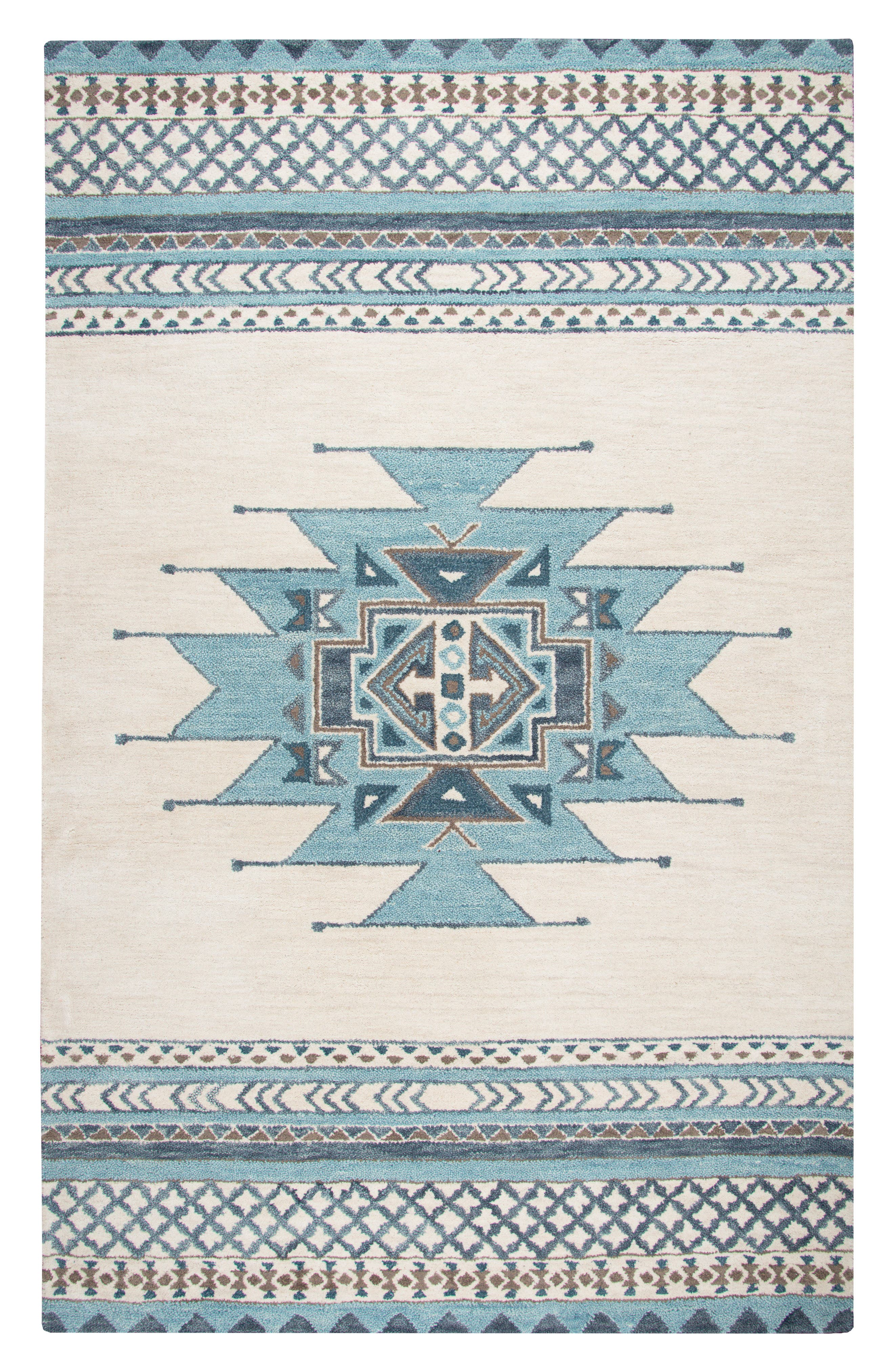 Hand Tufted Wool Blanket Rug,                         Main,                         color, 400