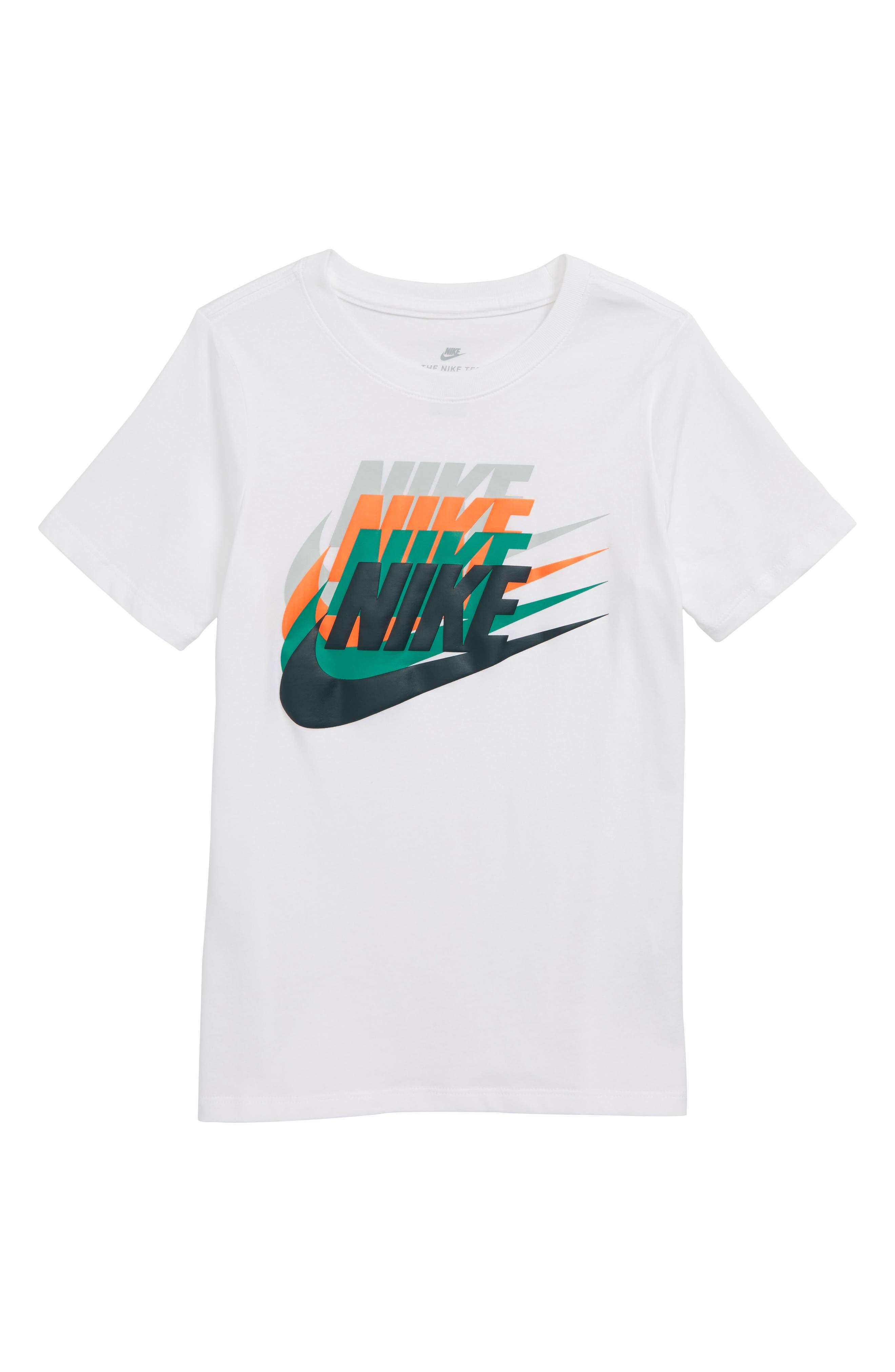 Sportswear Sunset Future Graphic T-Shirt,                             Main thumbnail 1, color,                             WHITE