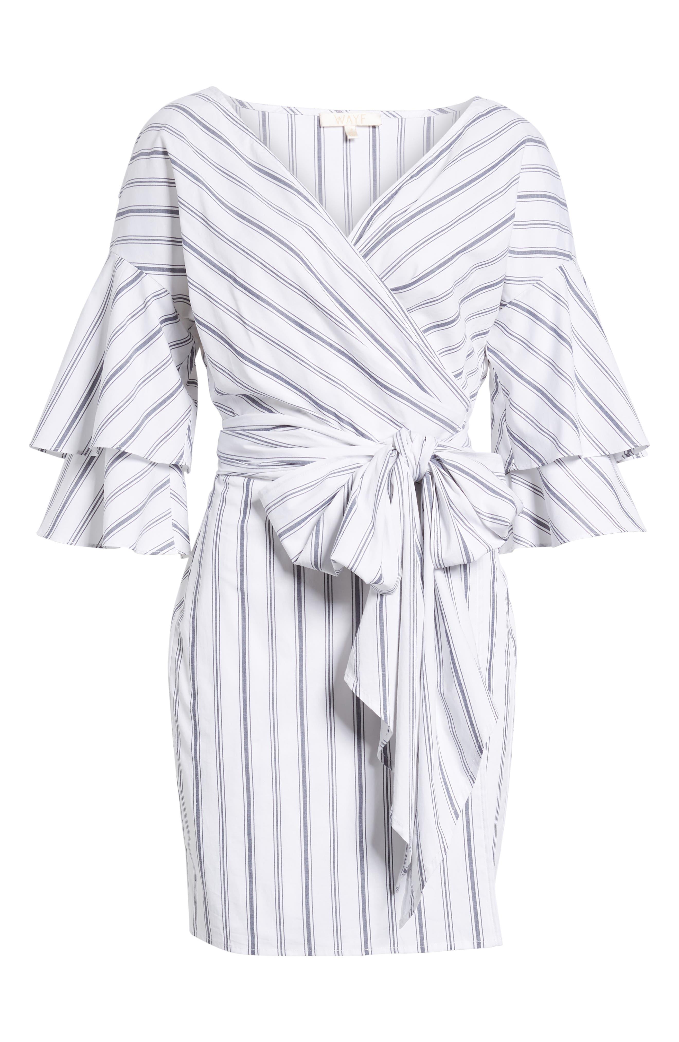 Beckett Wrap Dress,                             Alternate thumbnail 6, color,