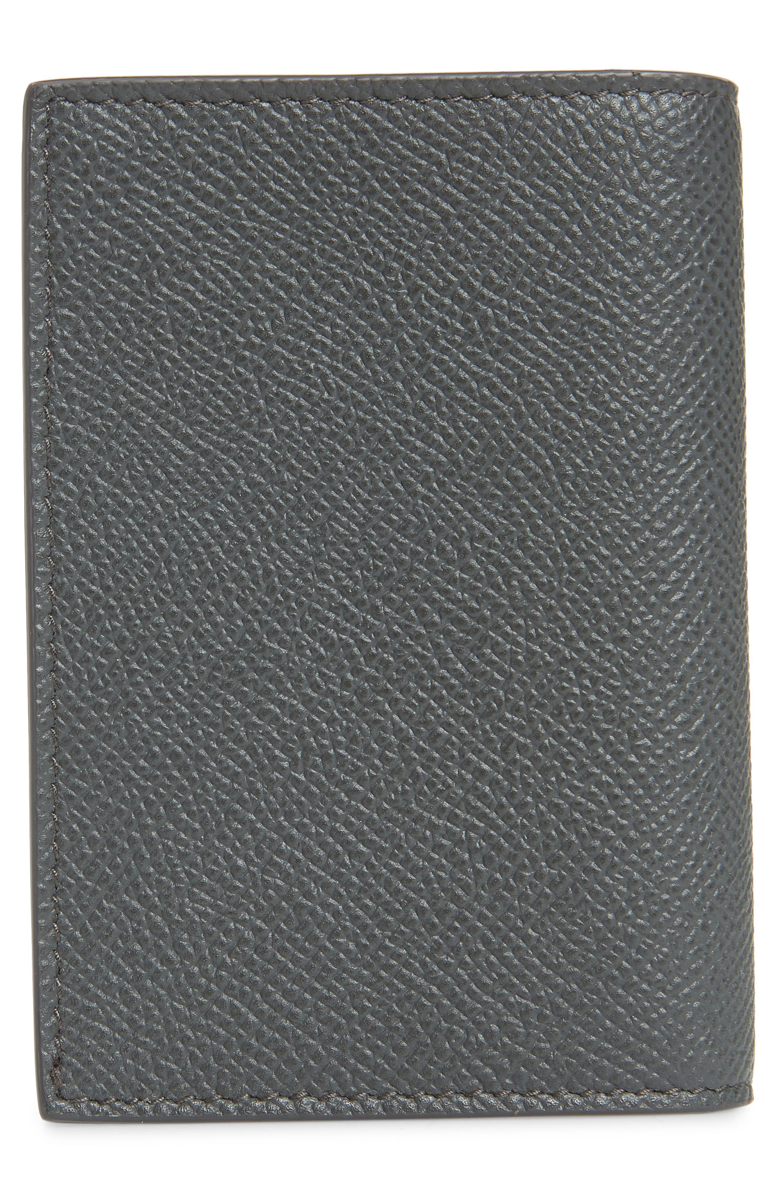 Cadogan Card Case,                             Alternate thumbnail 3, color,                             GREY