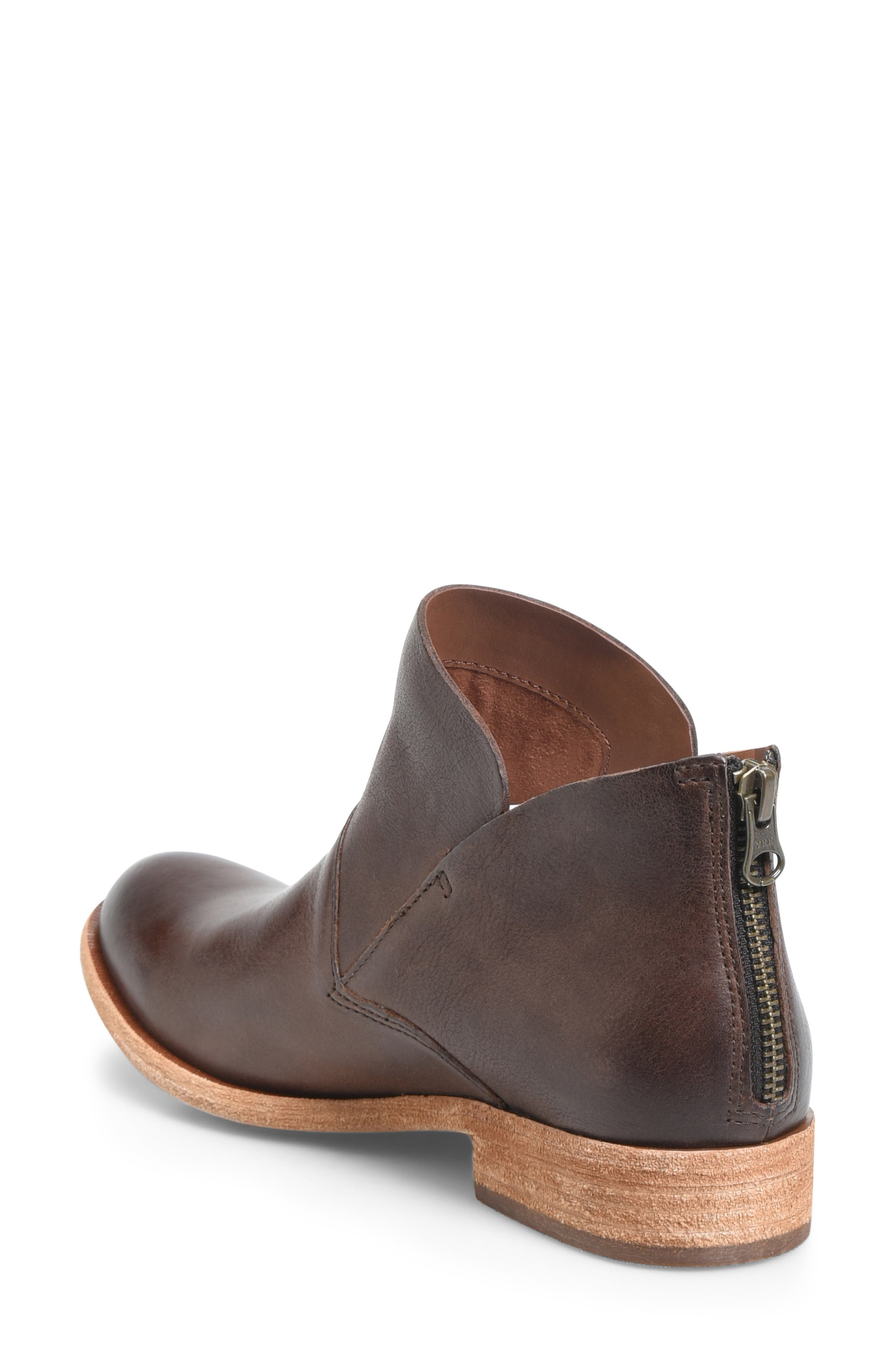 Ryder Ankle Boot,                             Alternate thumbnail 2, color,                             DARK BROWN LEATHER