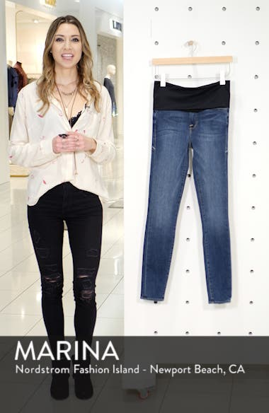 Good Mama The Home Stretch Maternity Skinny Jeans, sales video thumbnail
