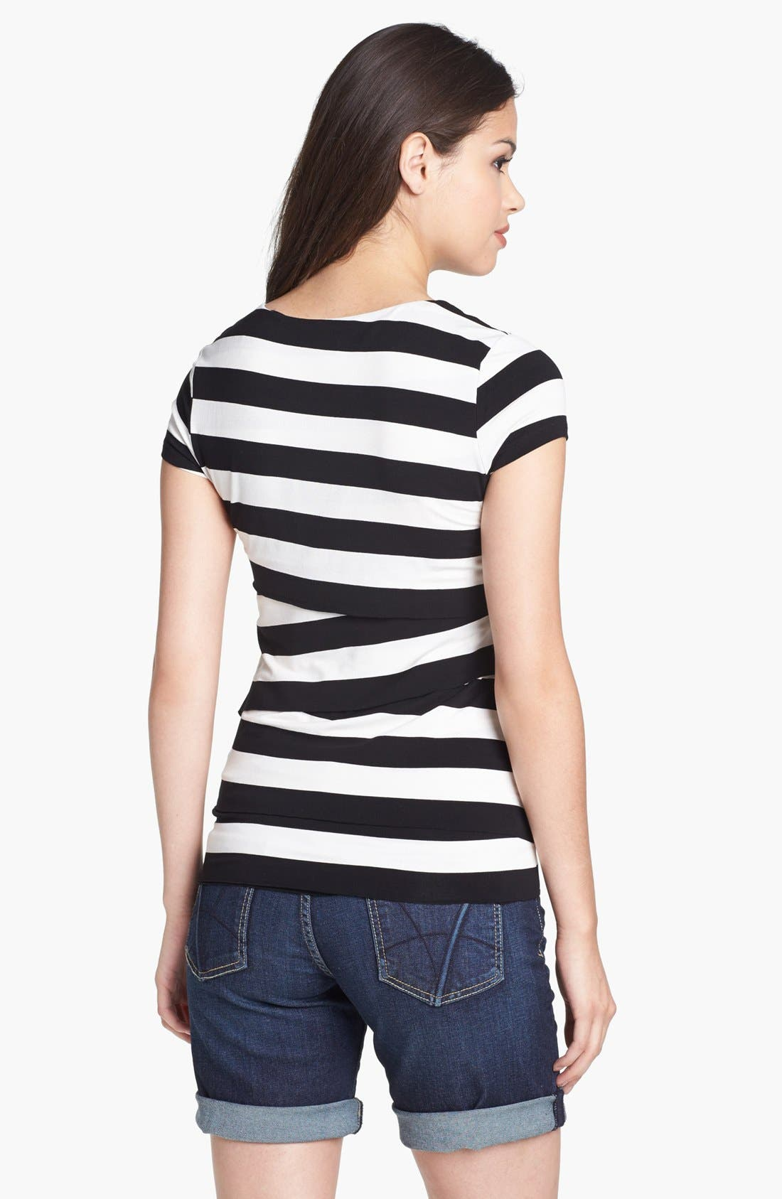 Stripe Bandage Top,                             Alternate thumbnail 7, color,