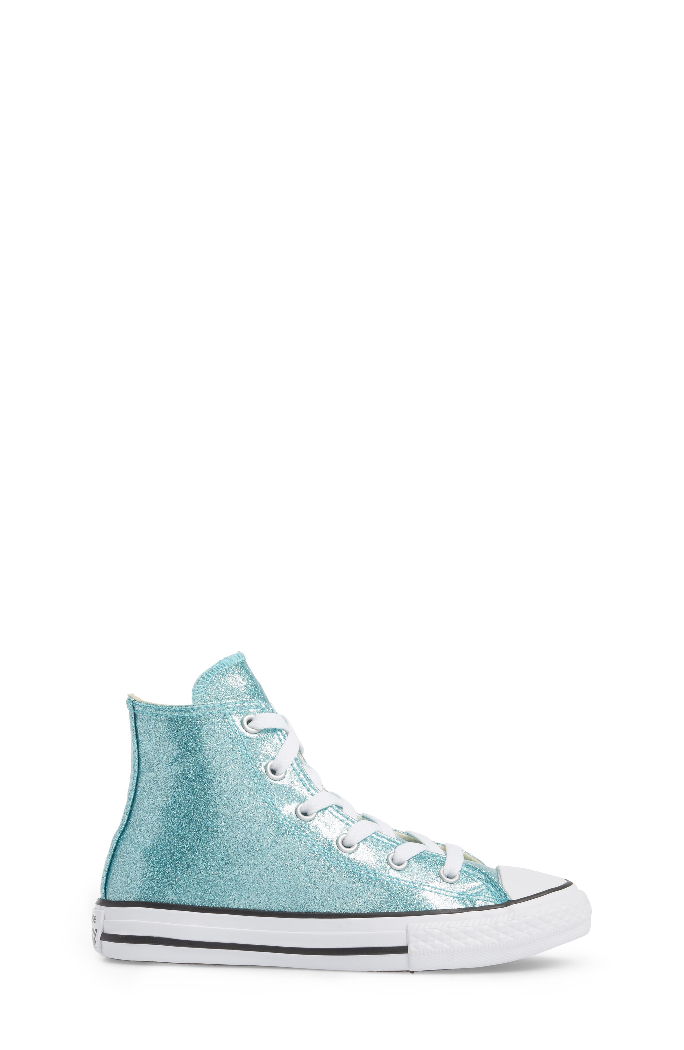 All Star<sup>®</sup> Glitter High Top Sneaker,                             Alternate thumbnail 3, color,                             400
