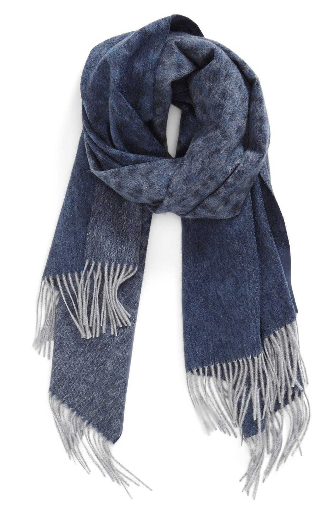 NORDSTROM COLLECTION 'Elusive' Cashmere Wrap, Main, color, 020