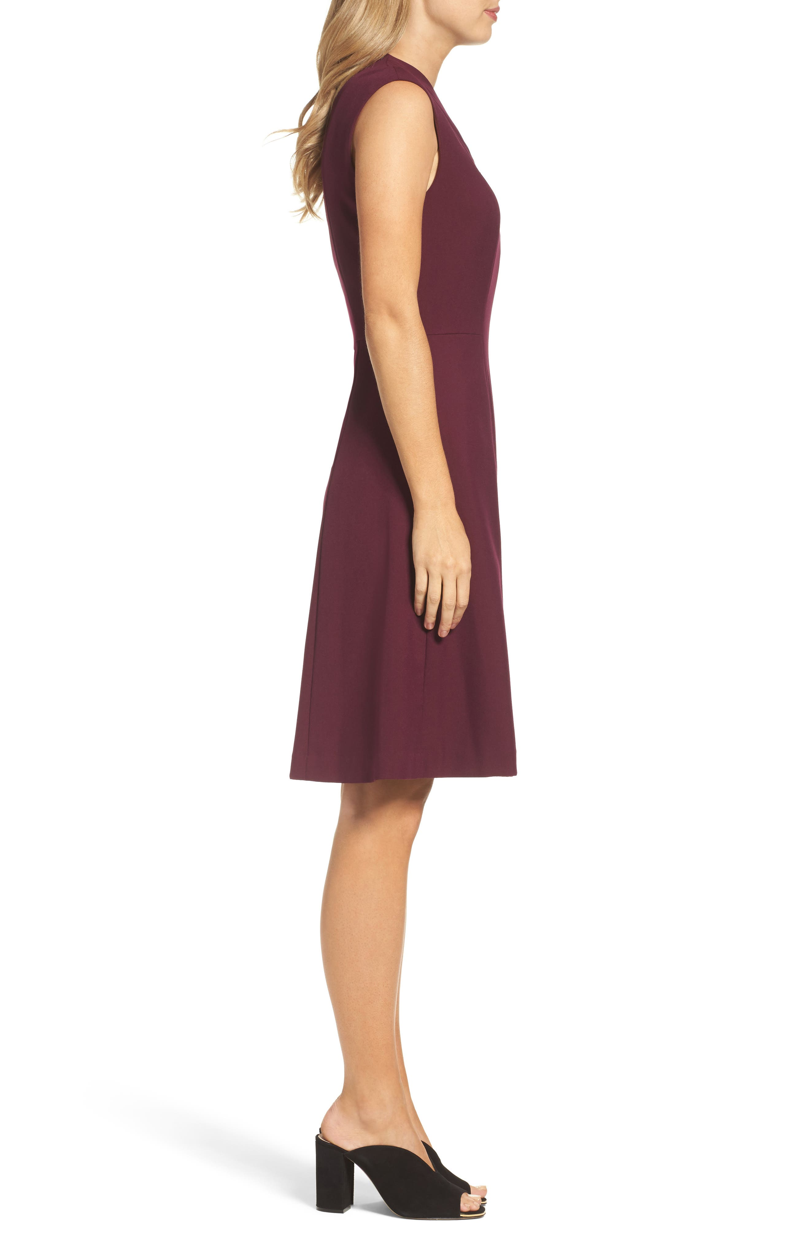 Fit & Flare Dress,                             Alternate thumbnail 9, color,