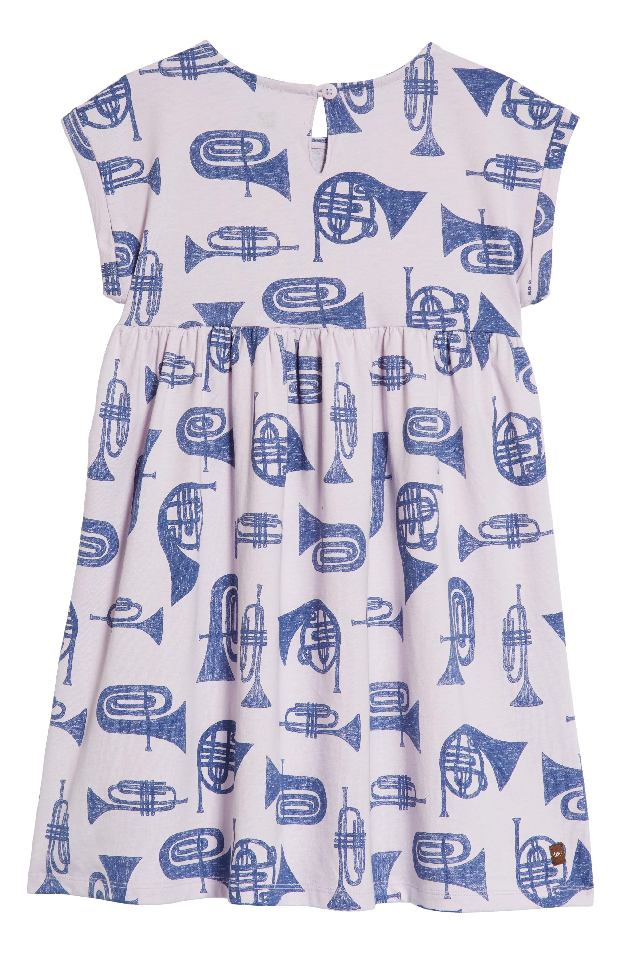 Print Dress,                             Alternate thumbnail 6, color,