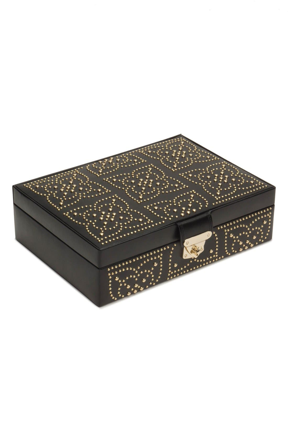 'Marrakesh' Flat Jewelry Box,                             Main thumbnail 1, color,                             001