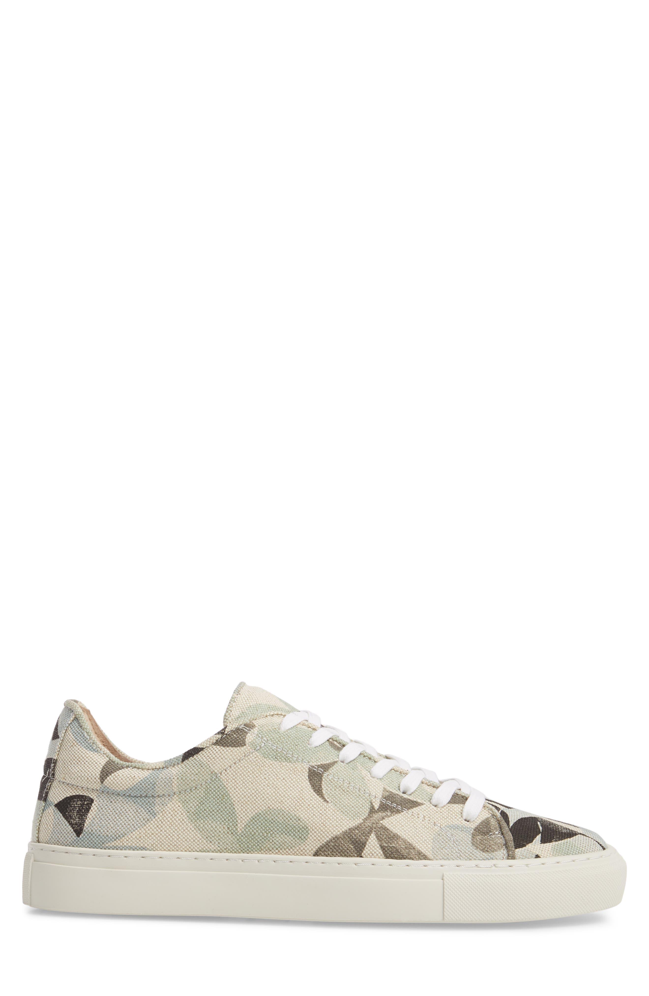 Mason Print Low Top Sneaker,                             Alternate thumbnail 11, color,