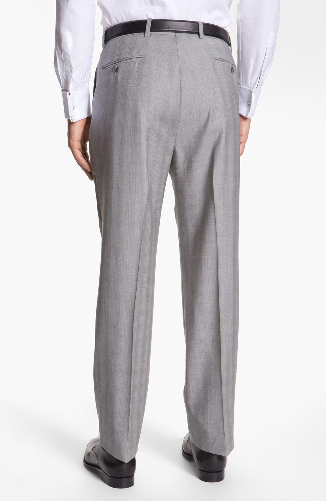 JOSEPH ABBOUD,                             'Platinum' Double Breasted Suit,                             Alternate thumbnail 2, color,                             050