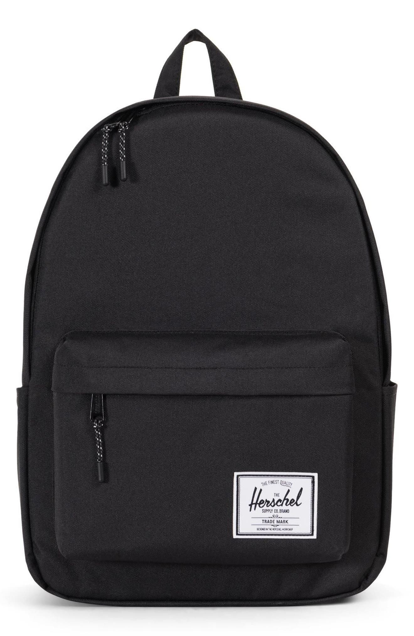 Classic XL Backpack,                         Main,                         color, BLACK