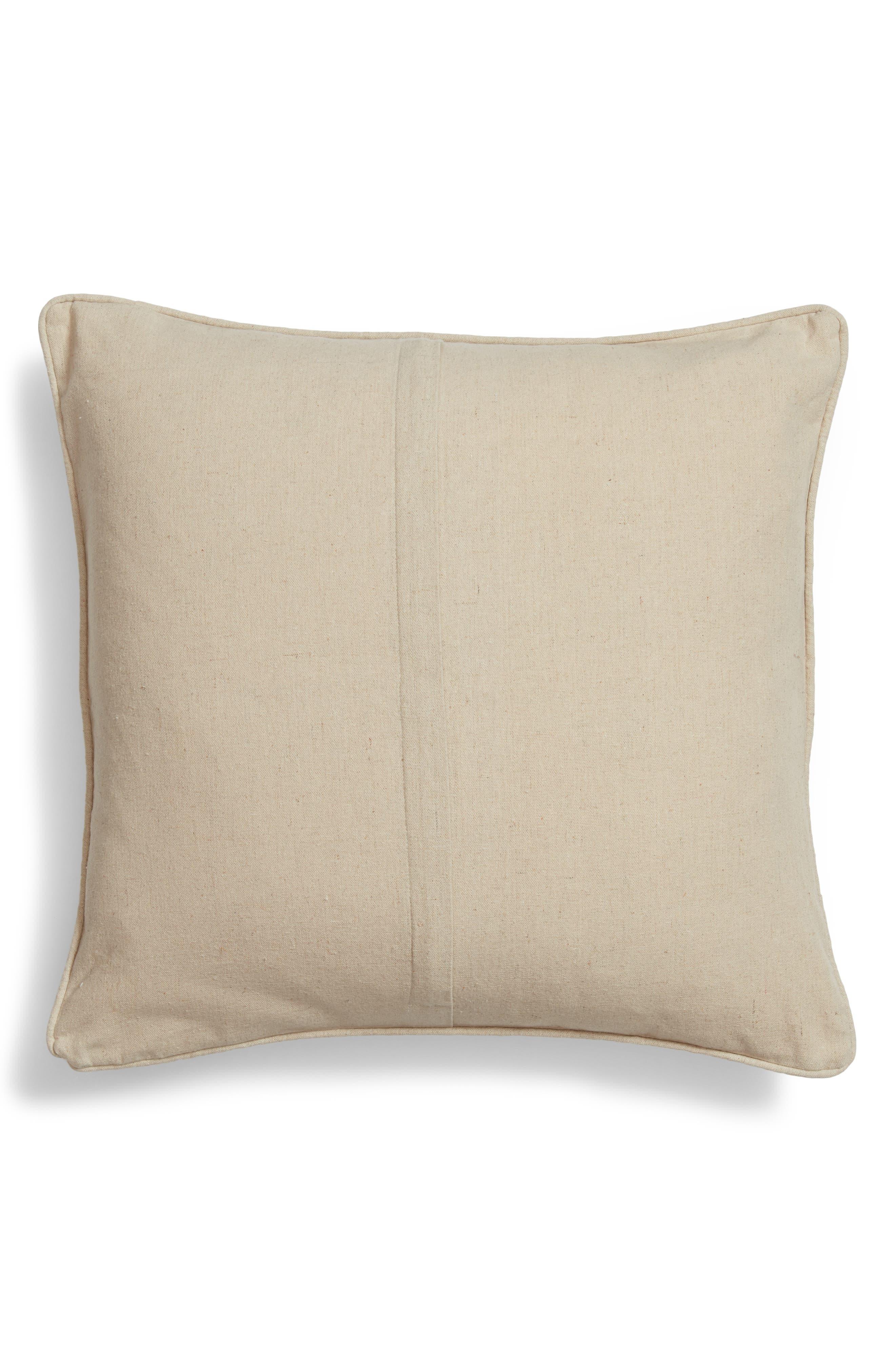 Honey Bunny Sequin Appliqué Accent Pillow,                             Alternate thumbnail 2, color,                             100