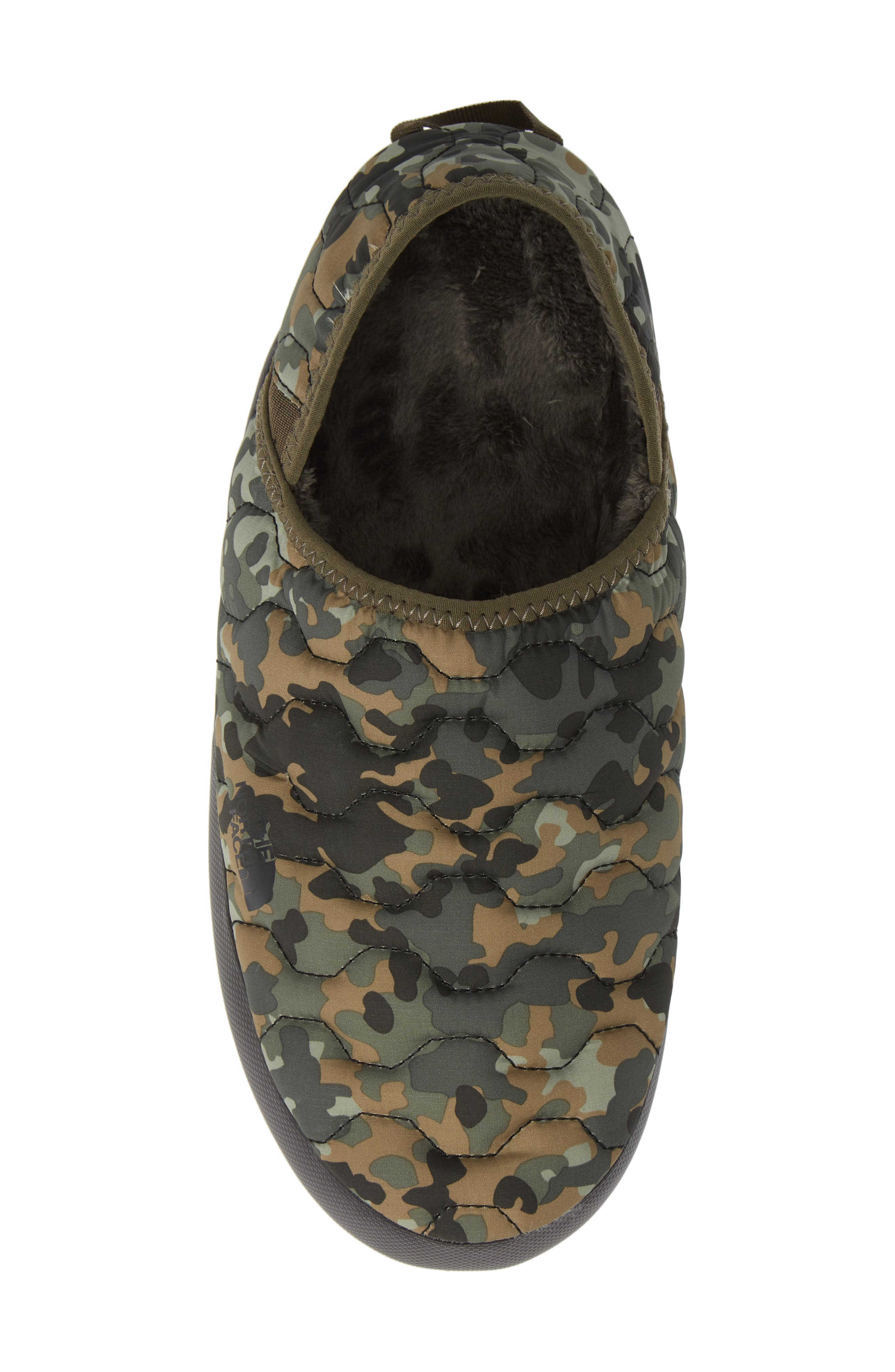 ThermoBall<sup>™</sup> Water-Resistant Traction slipper,                             Alternate thumbnail 5, color,                             TUMBLEWEED GREEN
