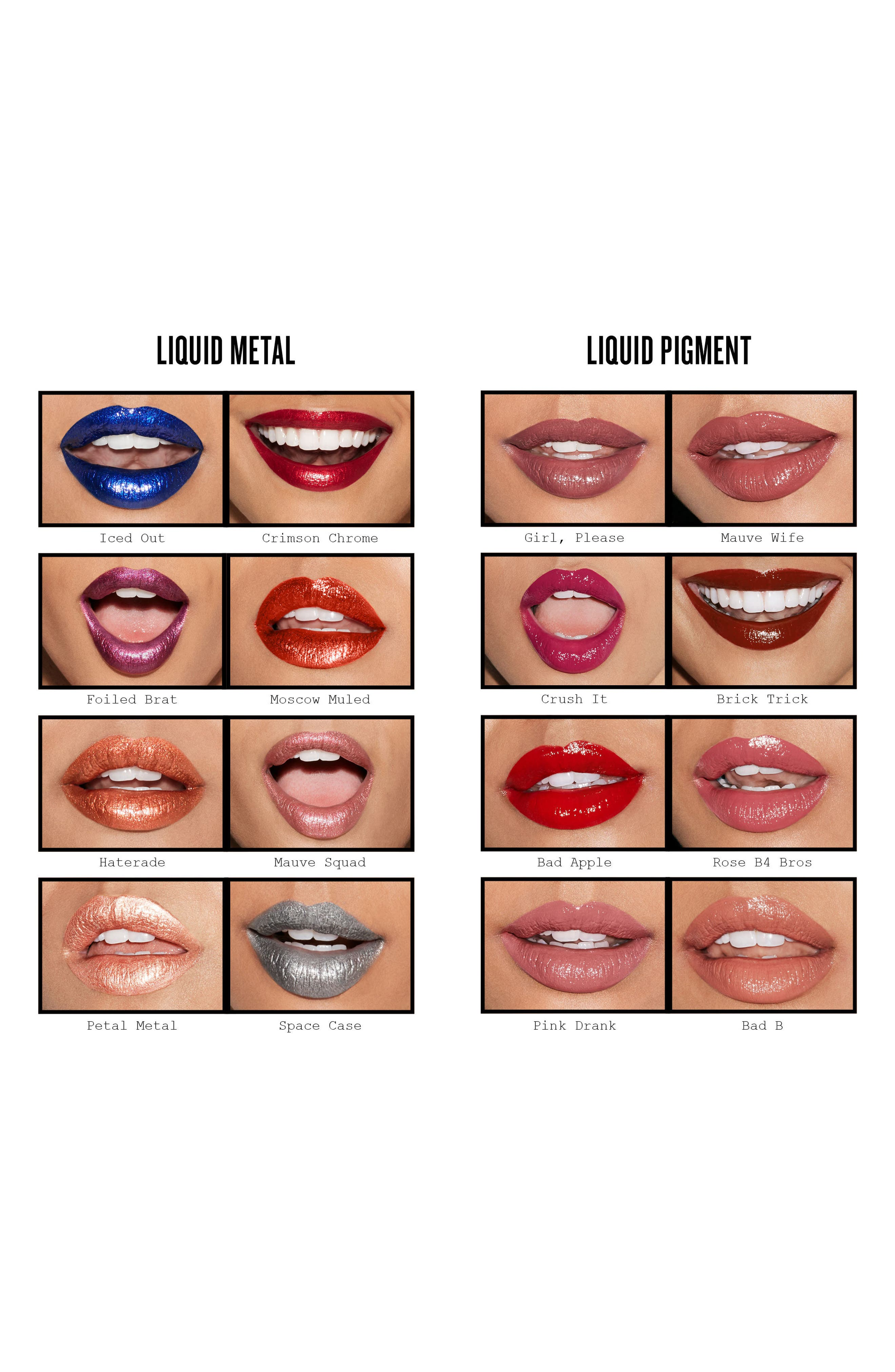 Be Legendary Liquid Pigment Liquid Lip,                             Alternate thumbnail 3, color,                             GIRL, PLEASE