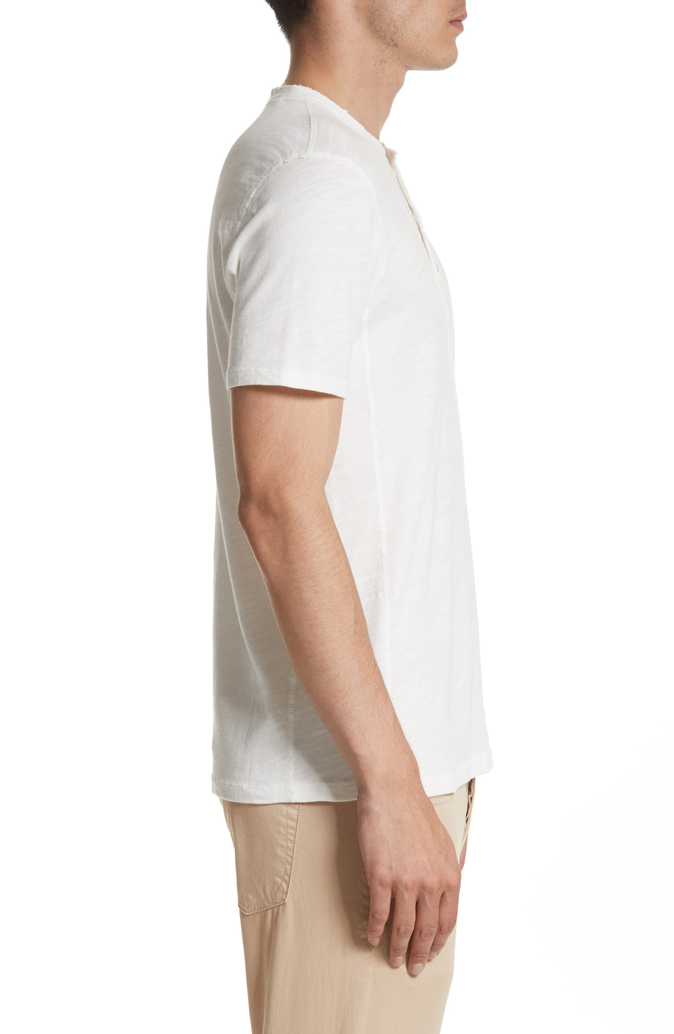 Standard Issue Henley,                             Alternate thumbnail 3, color,                             WHITE