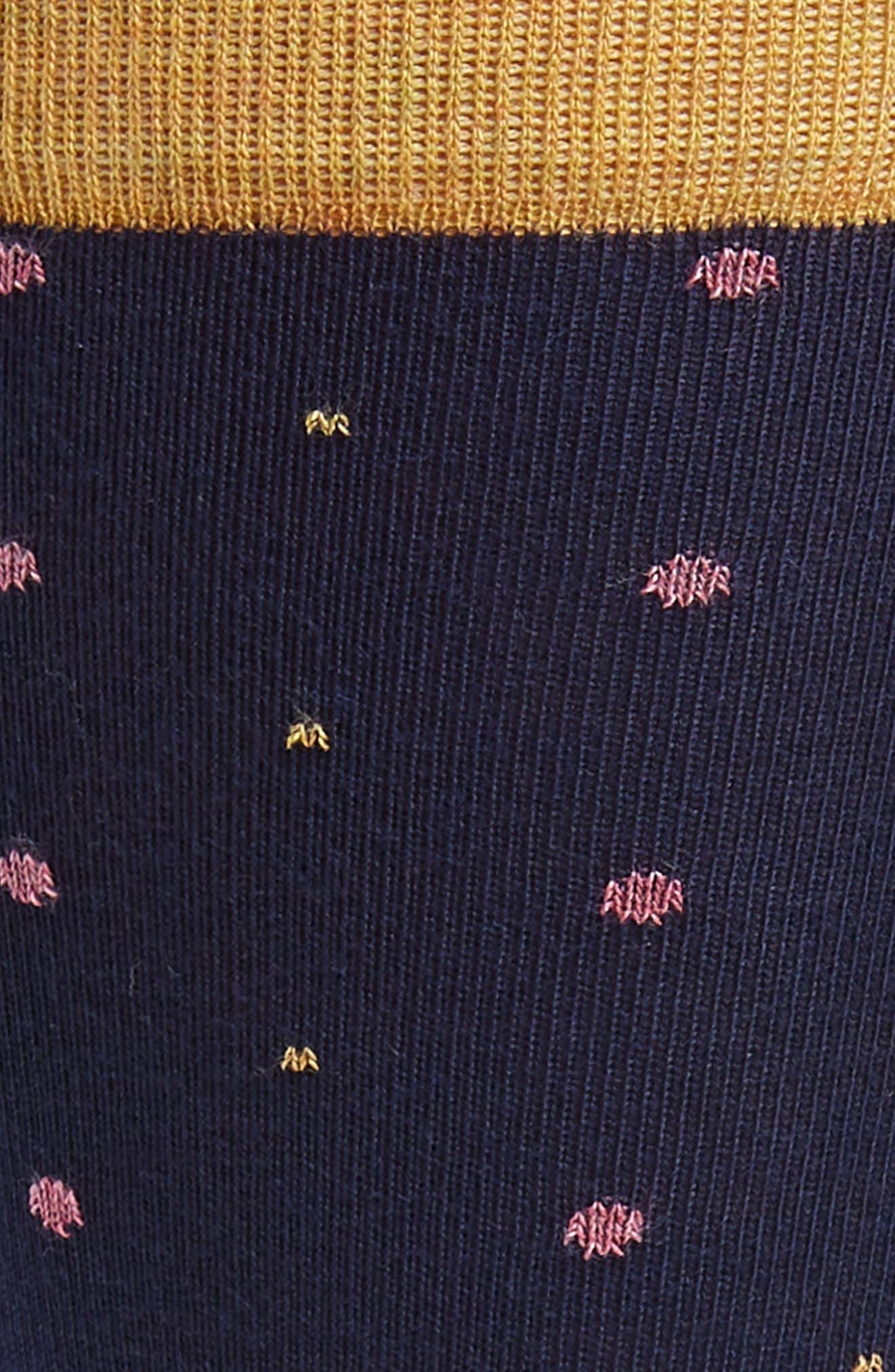 Pin Dot Socks,                             Alternate thumbnail 2, color,                             410