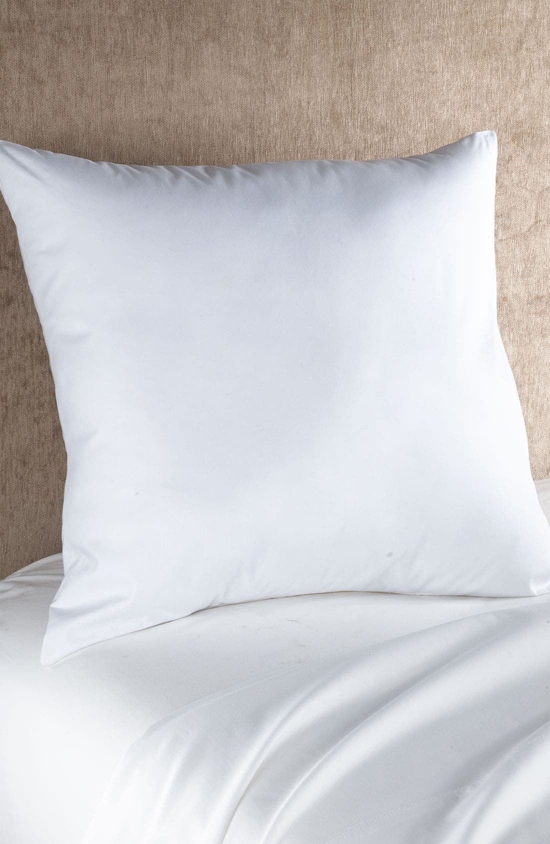 Down Euro Pillow Insert,                             Main thumbnail 1, color,                             WHITE