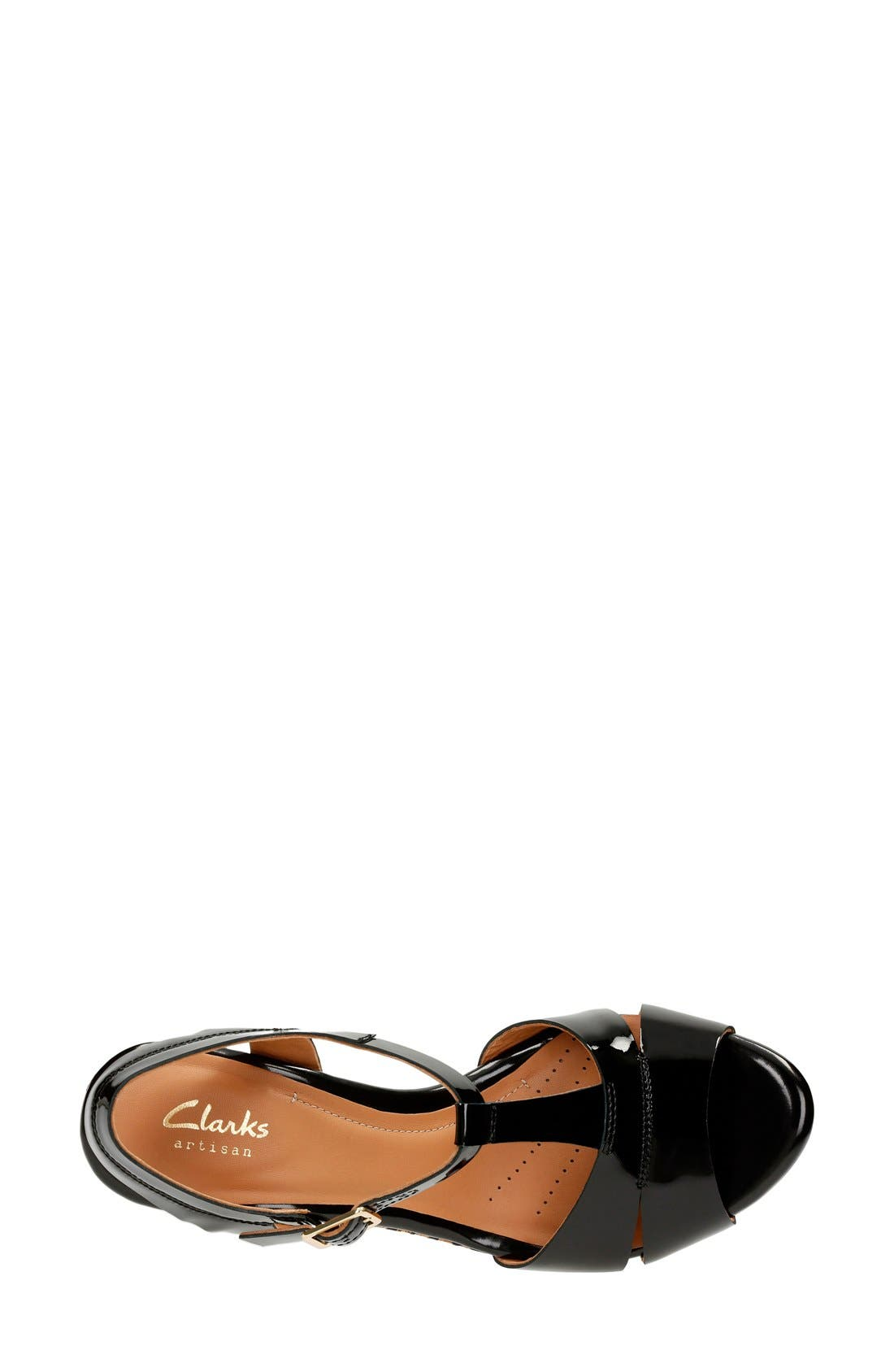 'Amelia Roma' Wedge Sandal,                             Alternate thumbnail 3, color,                             017