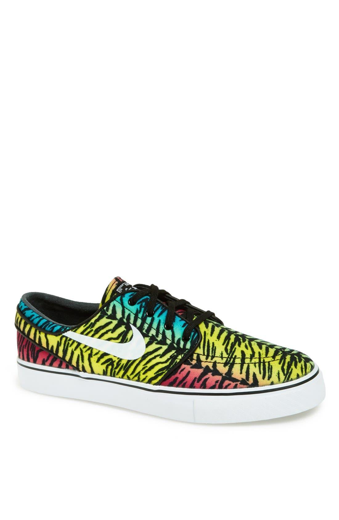 Zoom - Stefan Janoski SB Canvas Skate Shoe,                             Main thumbnail 41, color,