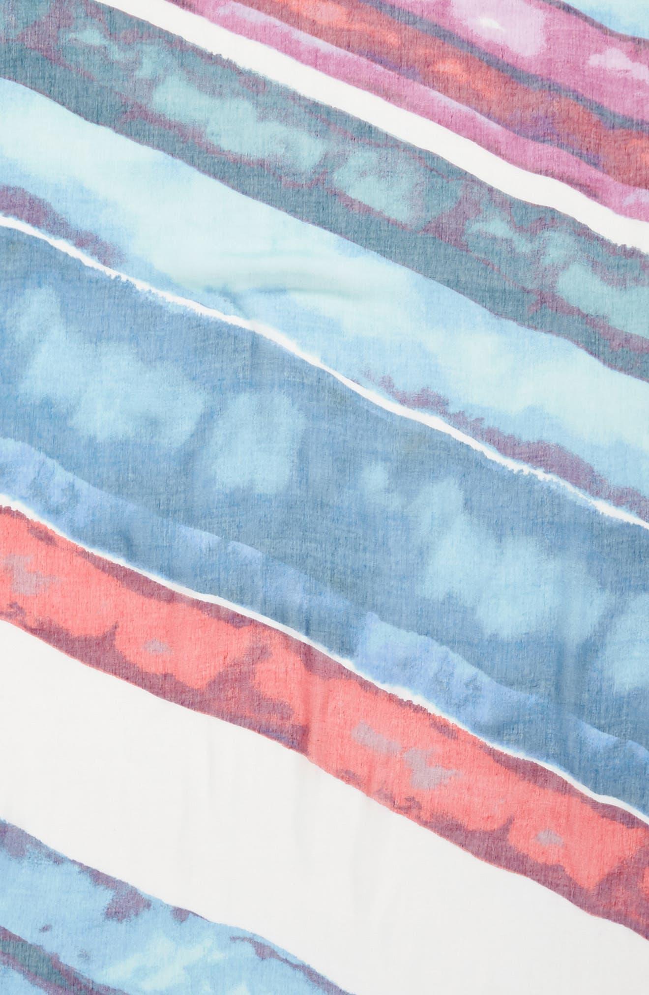 Print Modal & Silk Scarf,                             Alternate thumbnail 61, color,