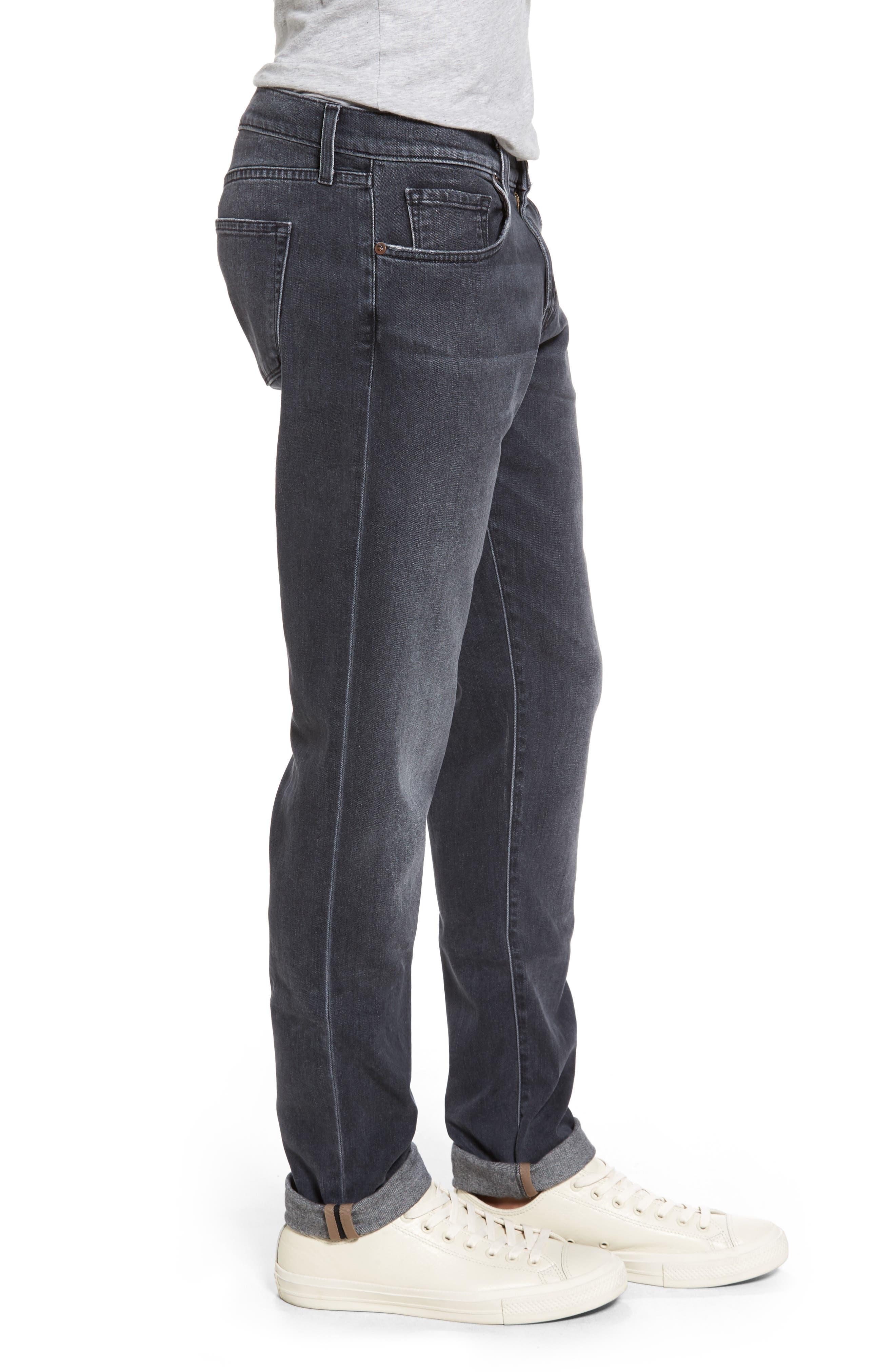 Tyler Slim Jeans,                             Alternate thumbnail 3, color,                             400