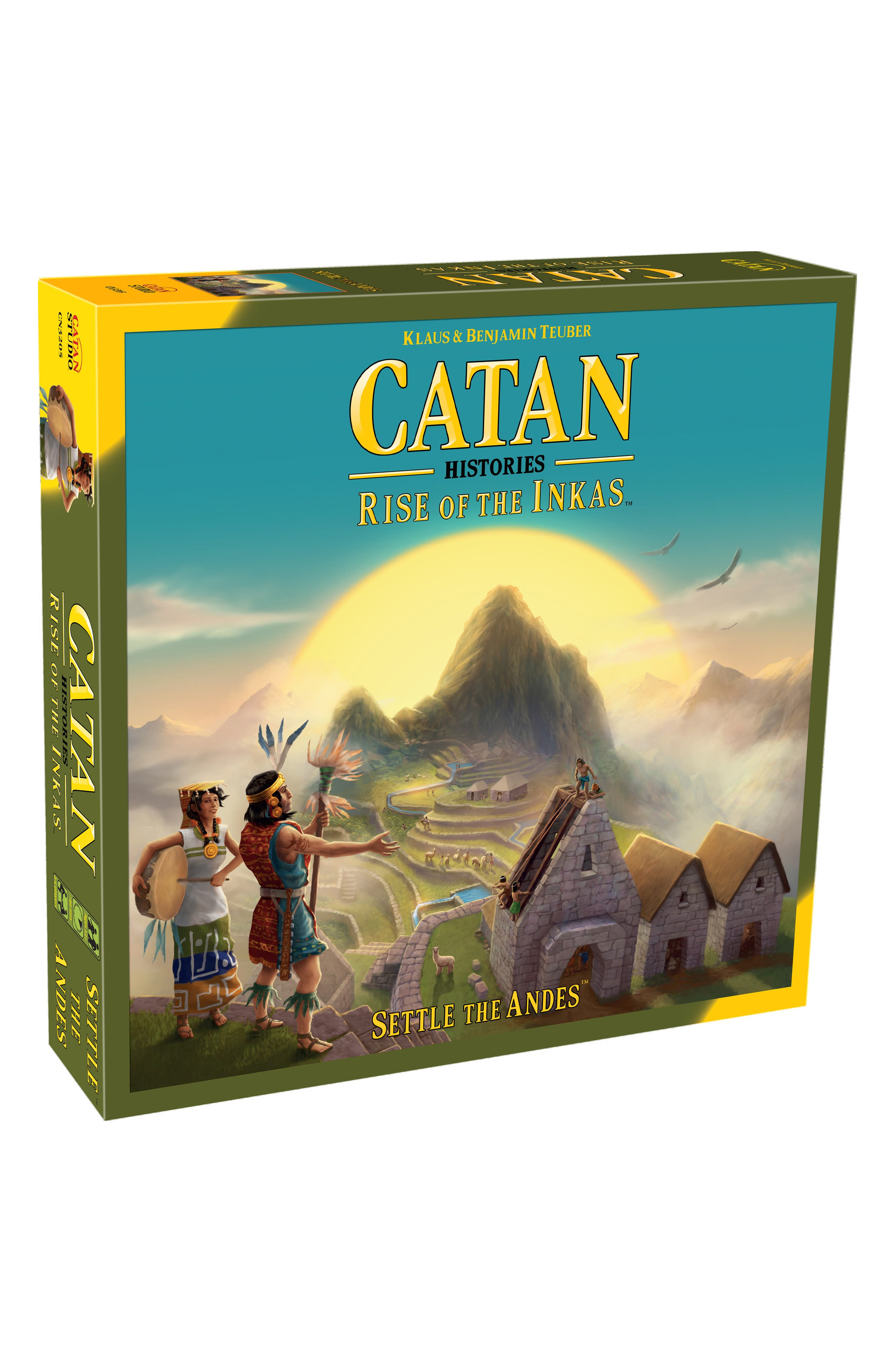 Asmodee Catan Rise Of The Inkas Board Game