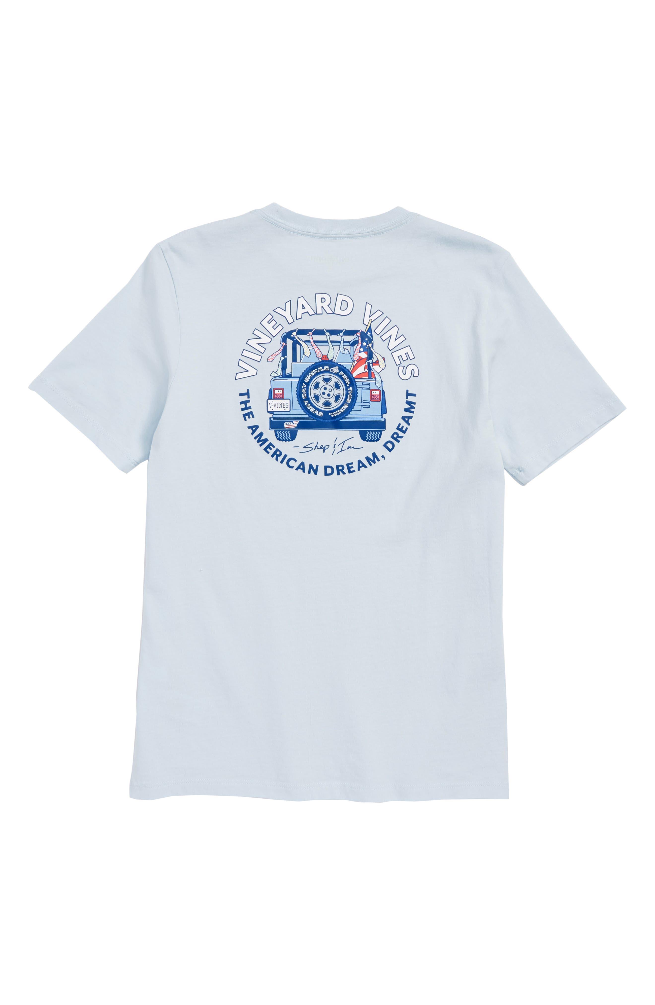 American Dream Pocket T-Shirt,                             Alternate thumbnail 2, color,