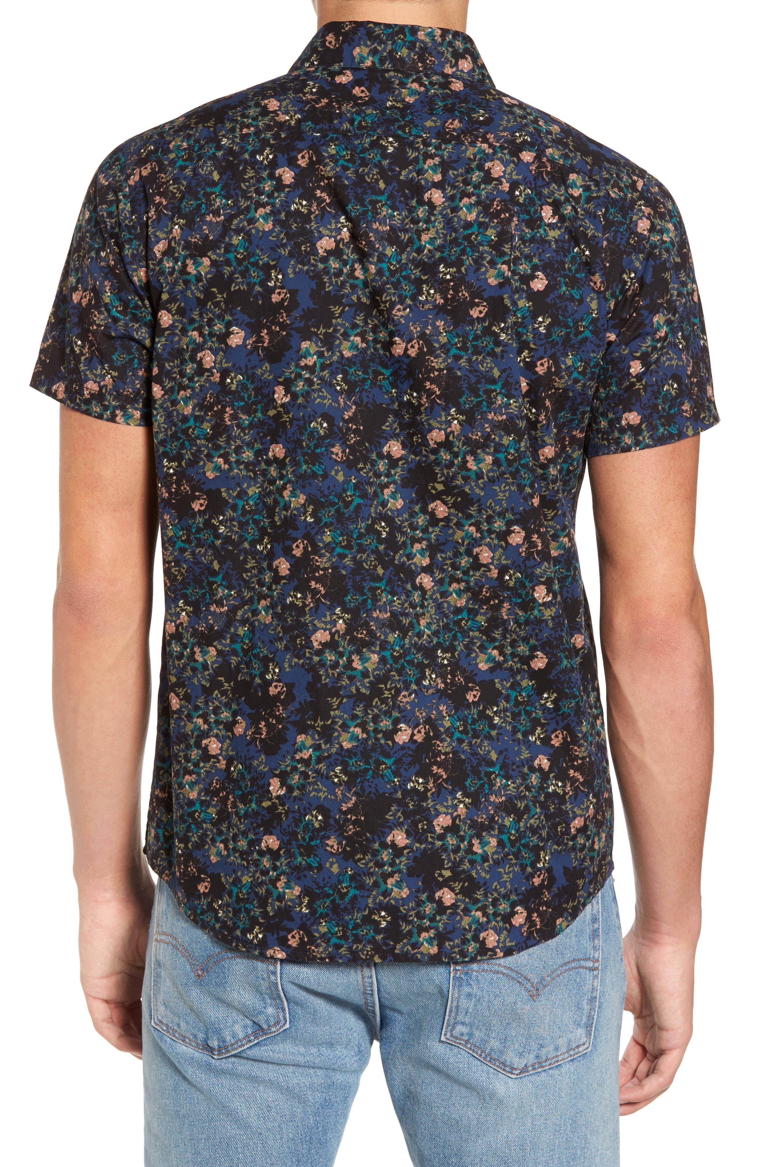 Control Woven Shirt,                             Alternate thumbnail 2, color,                             BLUE