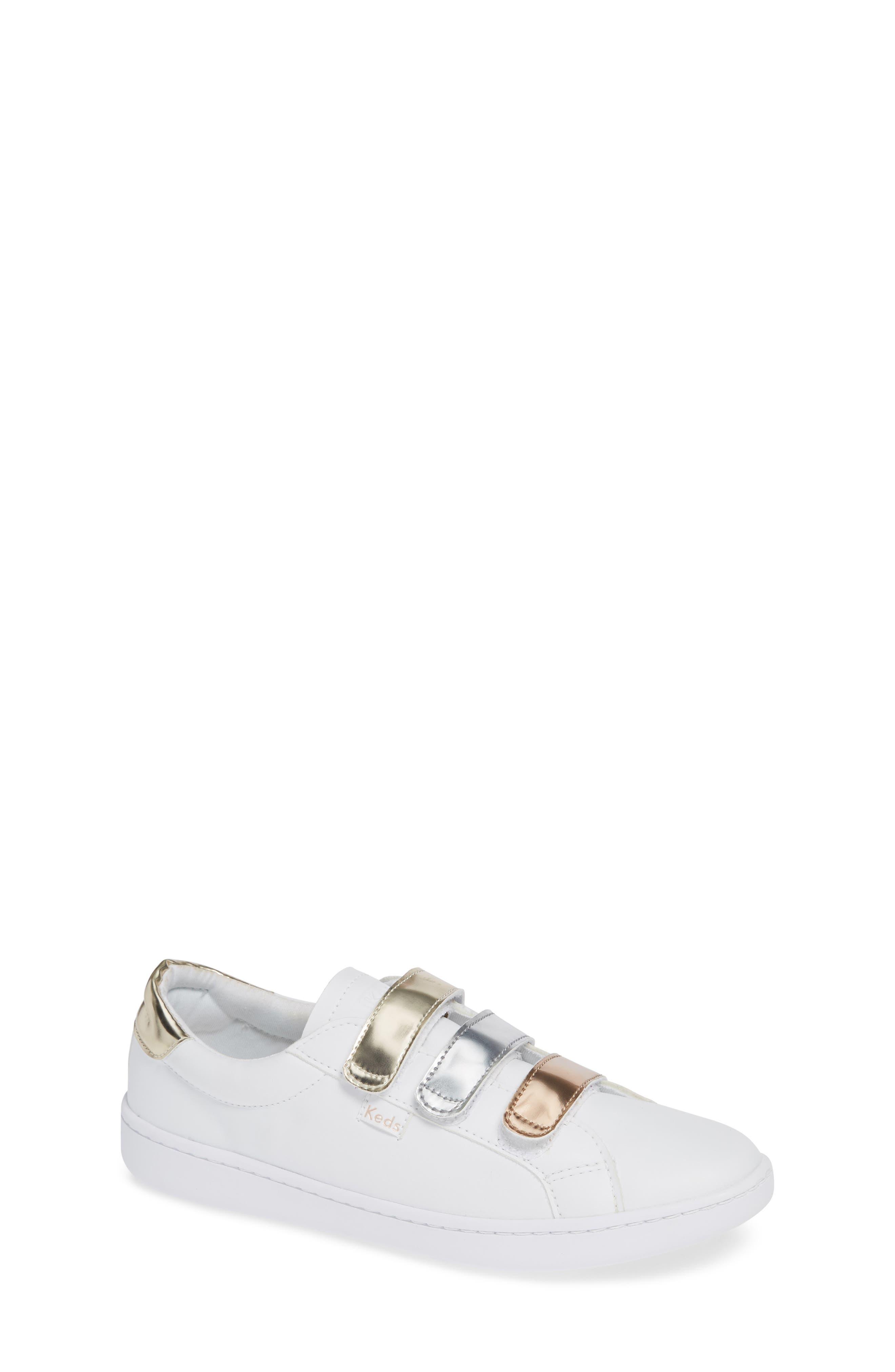 Toddler Girls Keds Ace 3V Sneaker Size 115 M  White