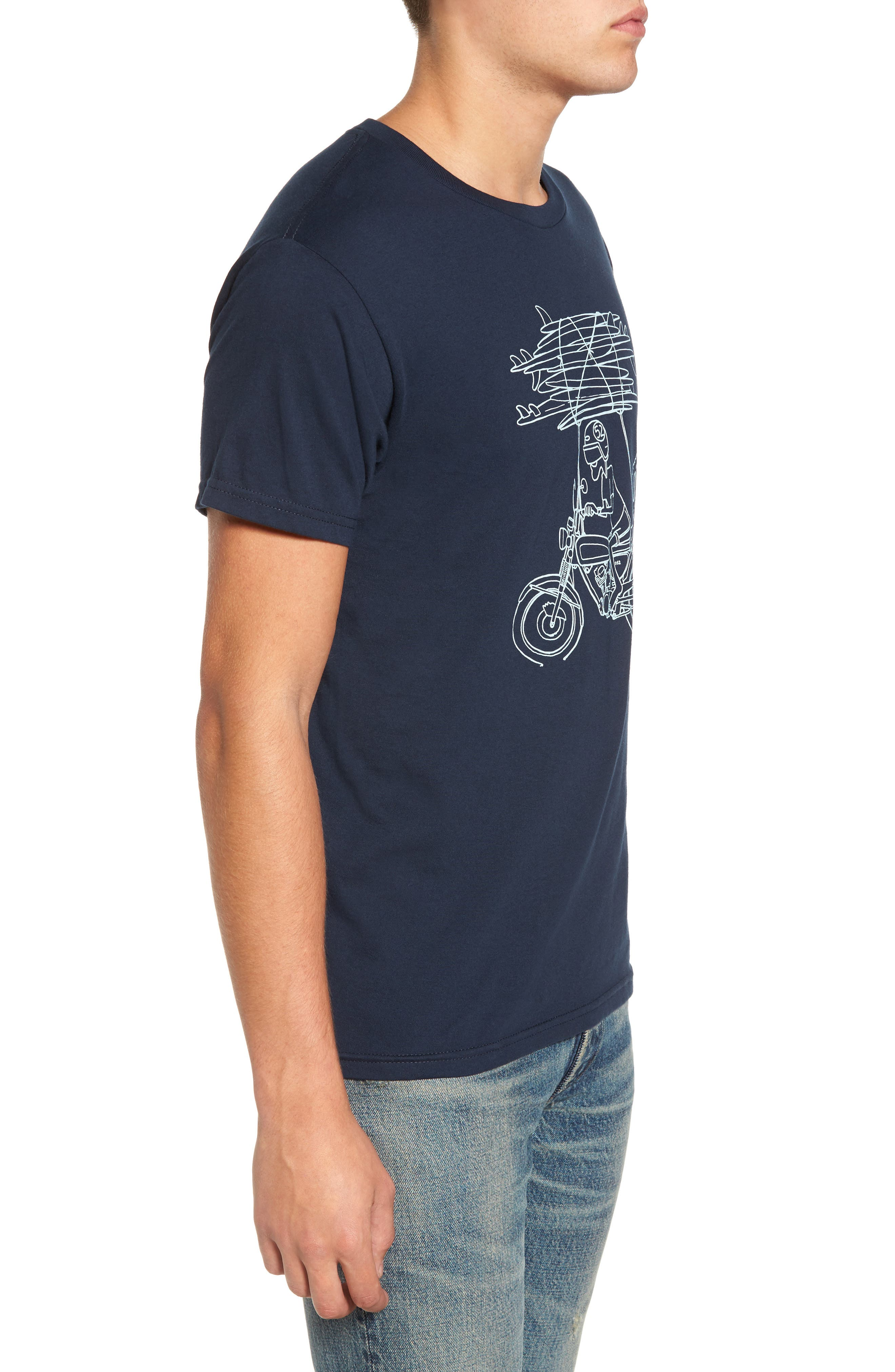Rider Graphic T-Shirt,                             Alternate thumbnail 3, color,