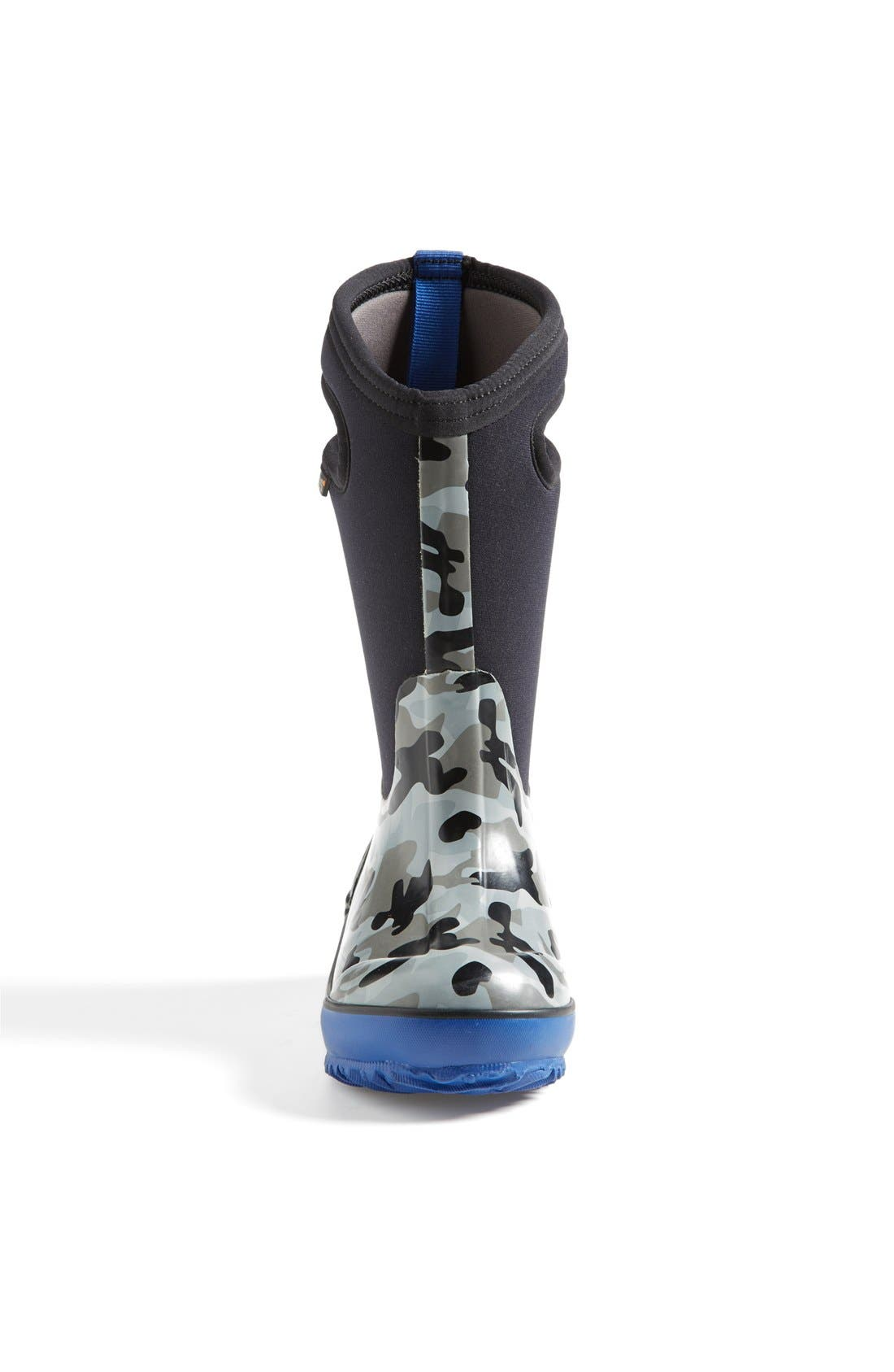 Classic Camo Insulated Waterproof Boot,                             Alternate thumbnail 3, color,                             001