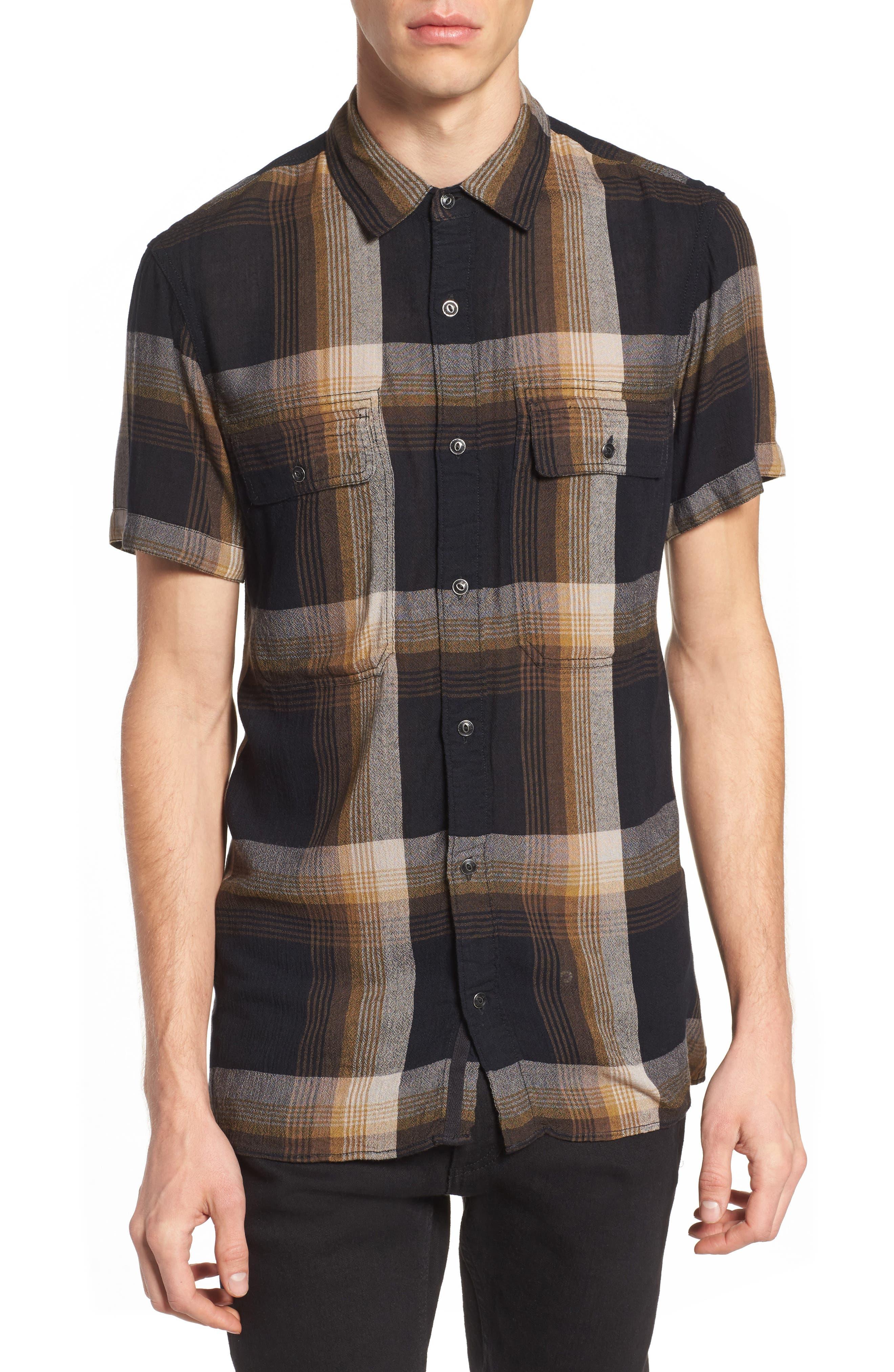 Drapey Sport Shirt,                         Main,                         color, 001