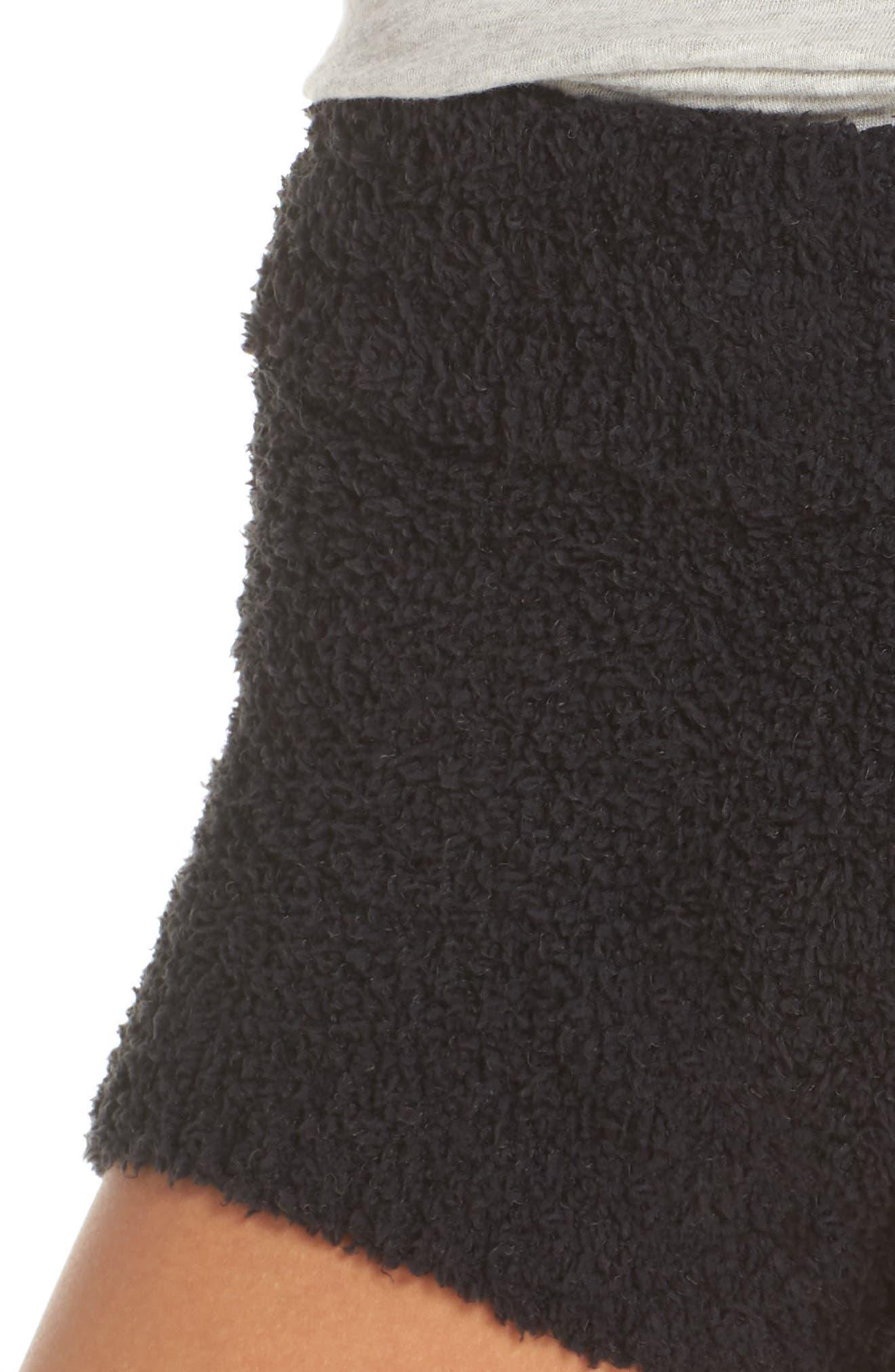 Shilo Shorts,                             Alternate thumbnail 4, color,                             BLACK