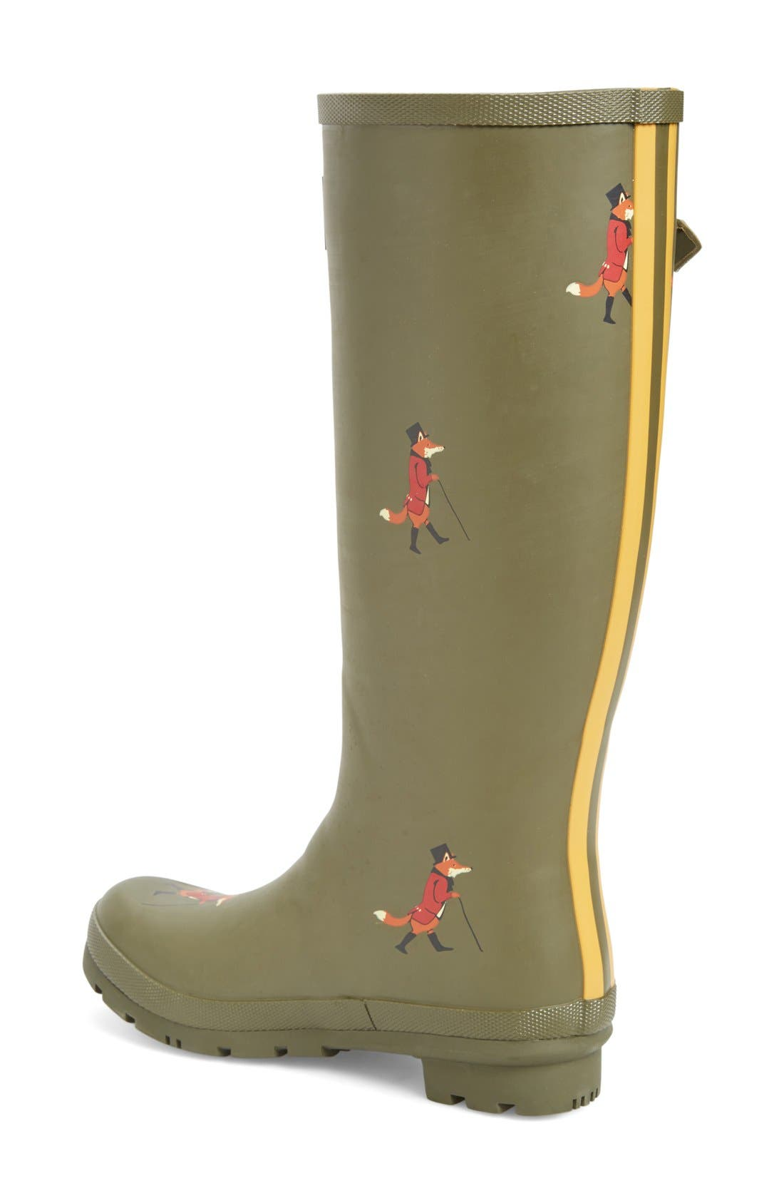 'Welly' Print Rain Boot,                             Alternate thumbnail 61, color,