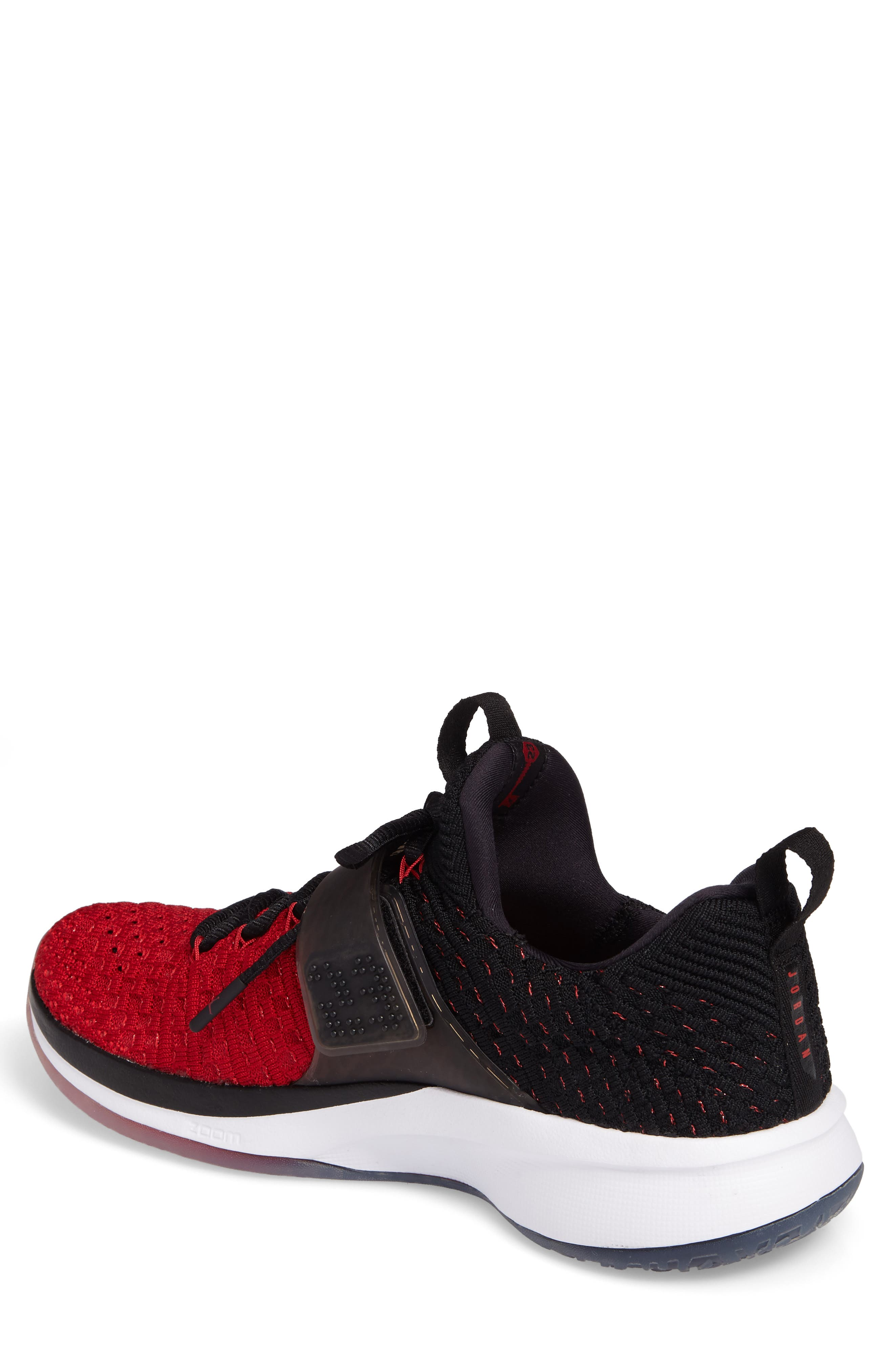 Jordan Flyknit Trainer 2 Low Sneaker,                             Alternate thumbnail 10, color,