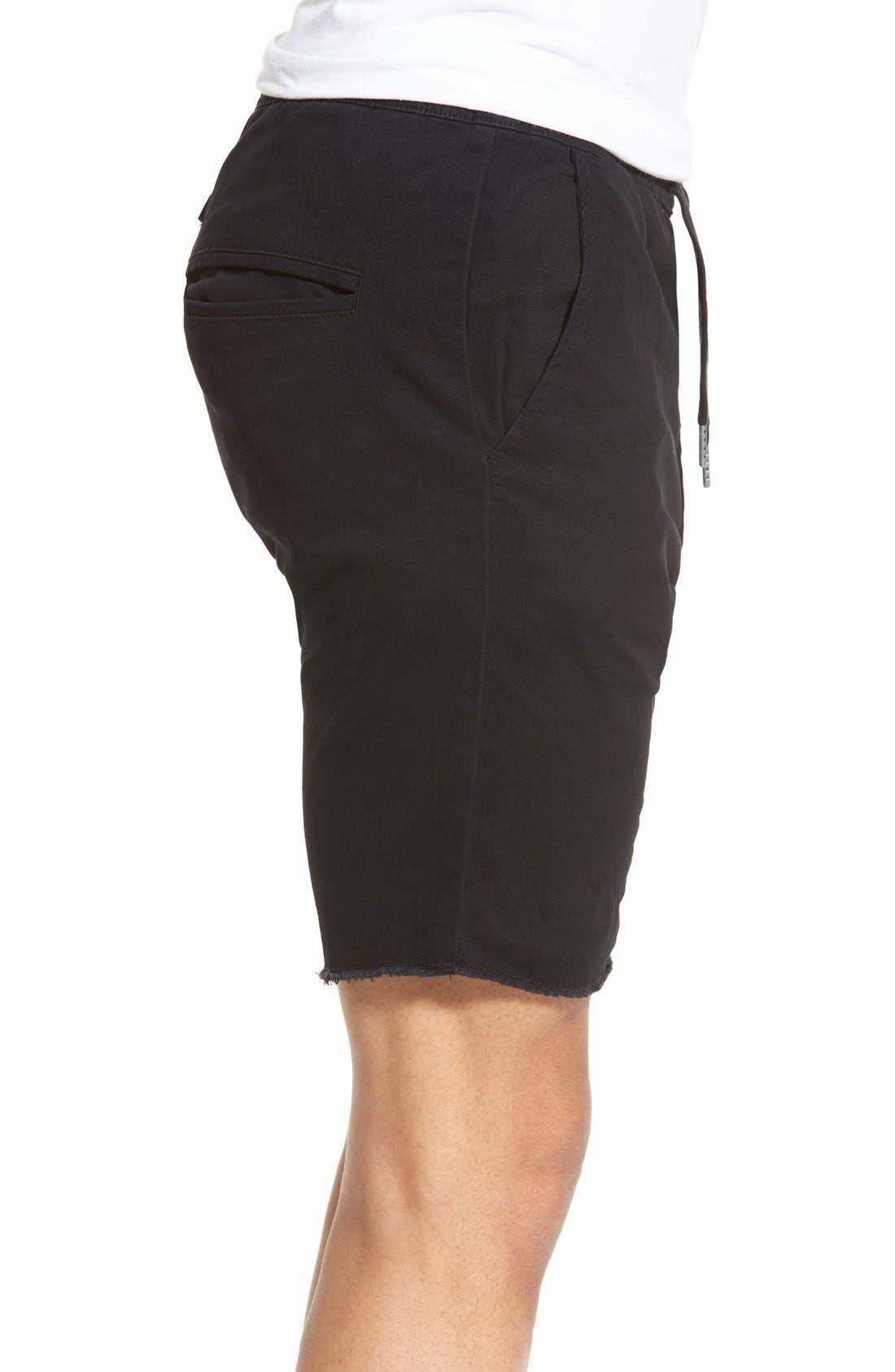 'Sureshot' Shorts,                             Alternate thumbnail 4, color,                             BLACK