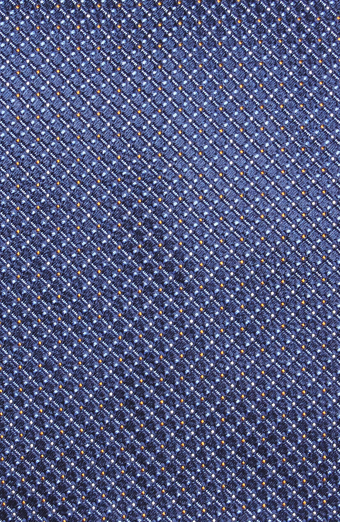Geometric Silk Tie,                             Alternate thumbnail 2, color,                             410