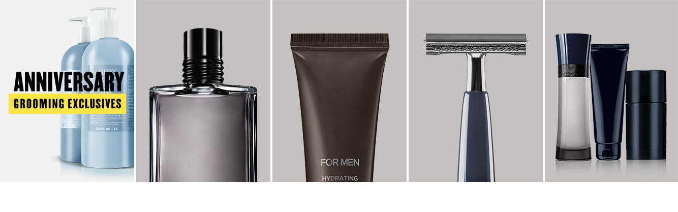 Men's grooming essentials.