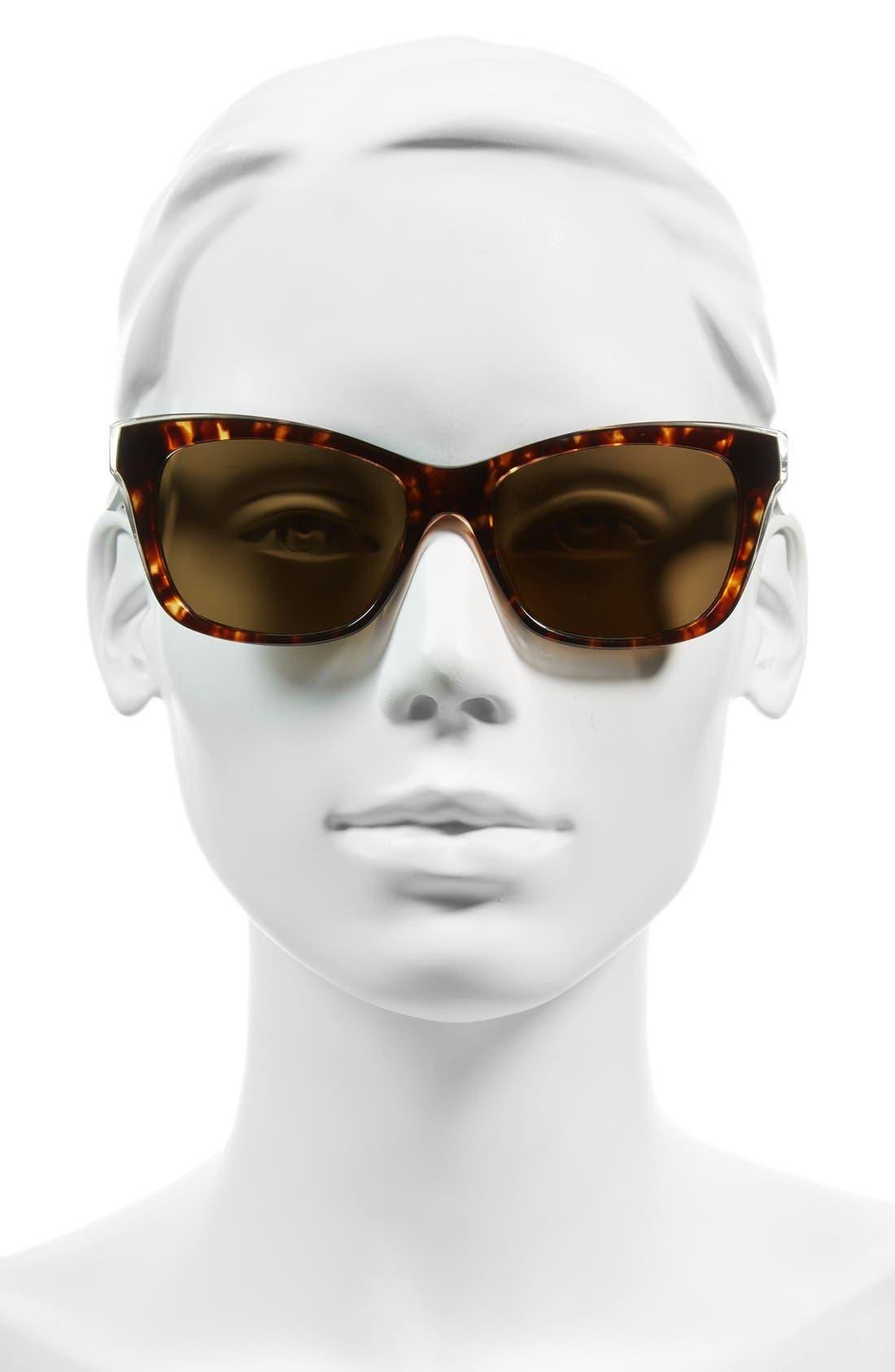 jenae 53mm polarized sunglasses,                             Alternate thumbnail 6, color,
