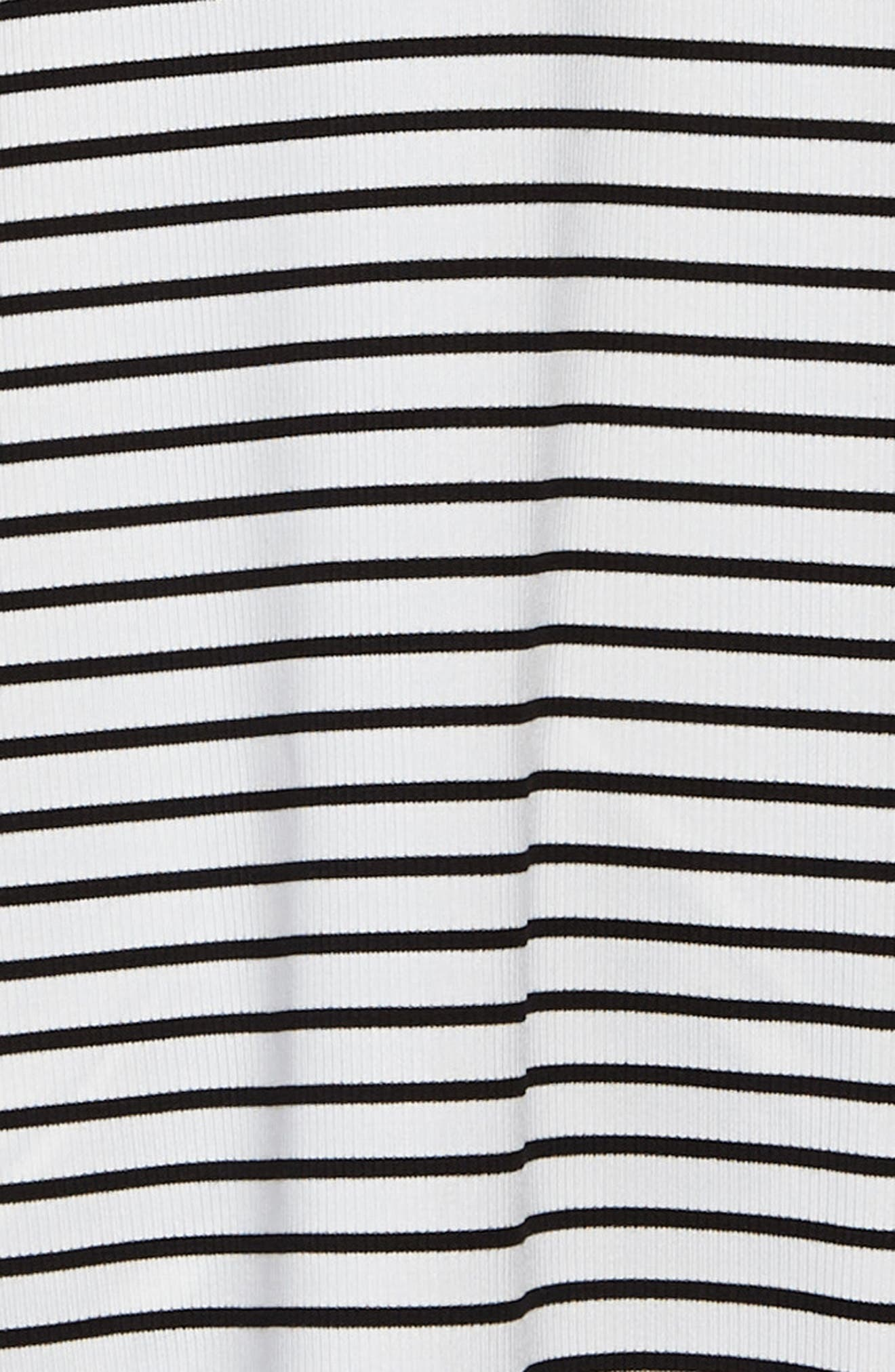 Esther Stripe Dress,                             Alternate thumbnail 3, color,                             100