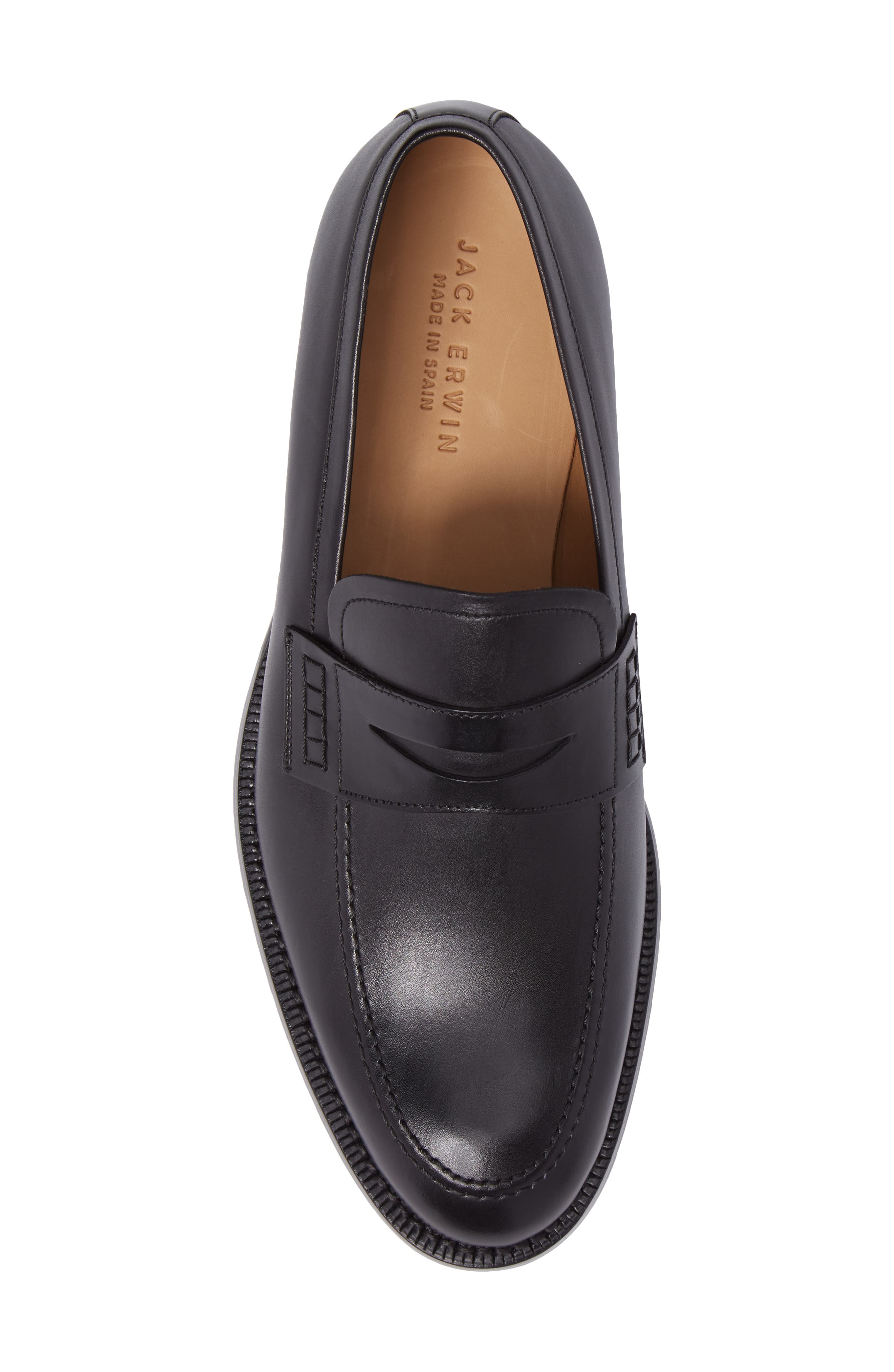 Archie Penny Loafer,                             Alternate thumbnail 5, color,                             001