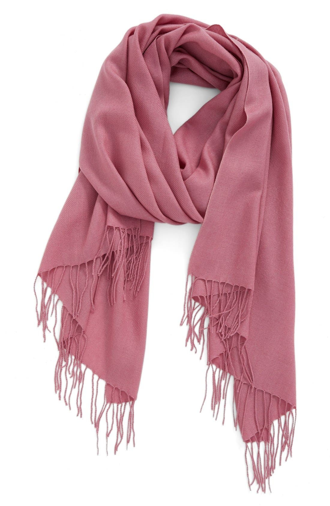 Tissue Weight Wool & Cashmere Scarf,                             Main thumbnail 47, color,