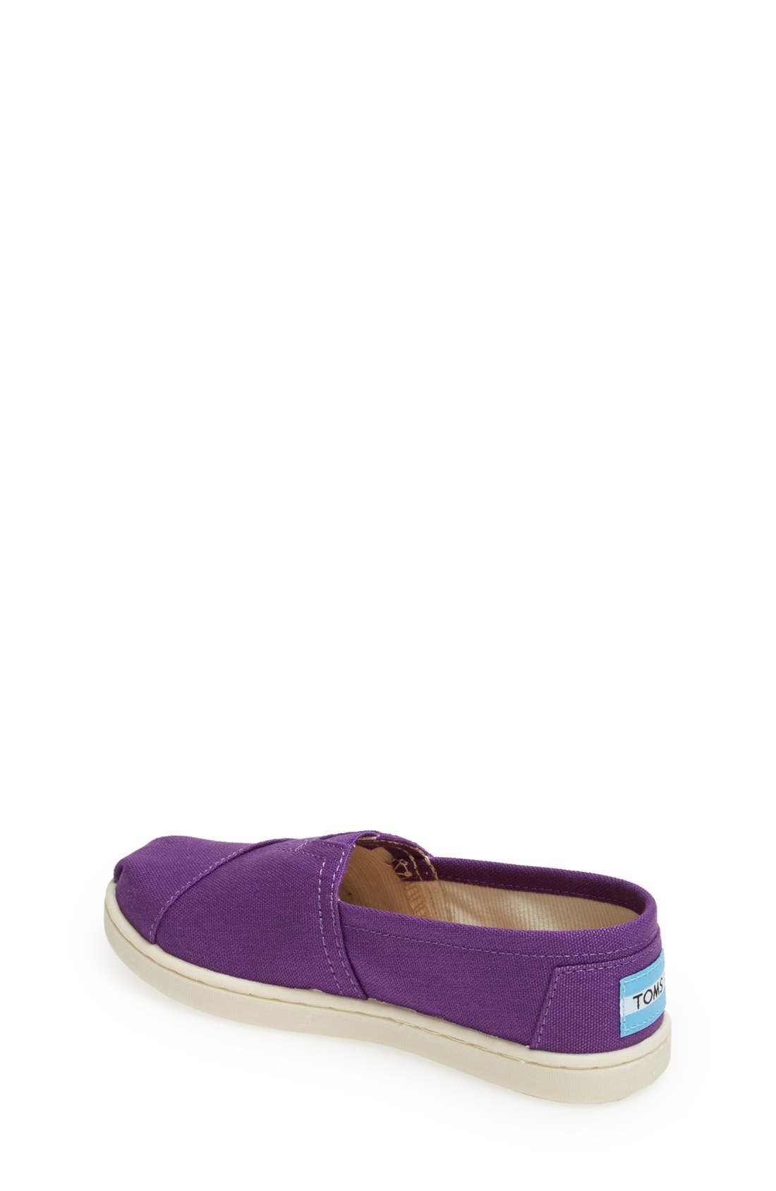 'Classic - Youth' Canvas Slip-On,                             Alternate thumbnail 11, color,
