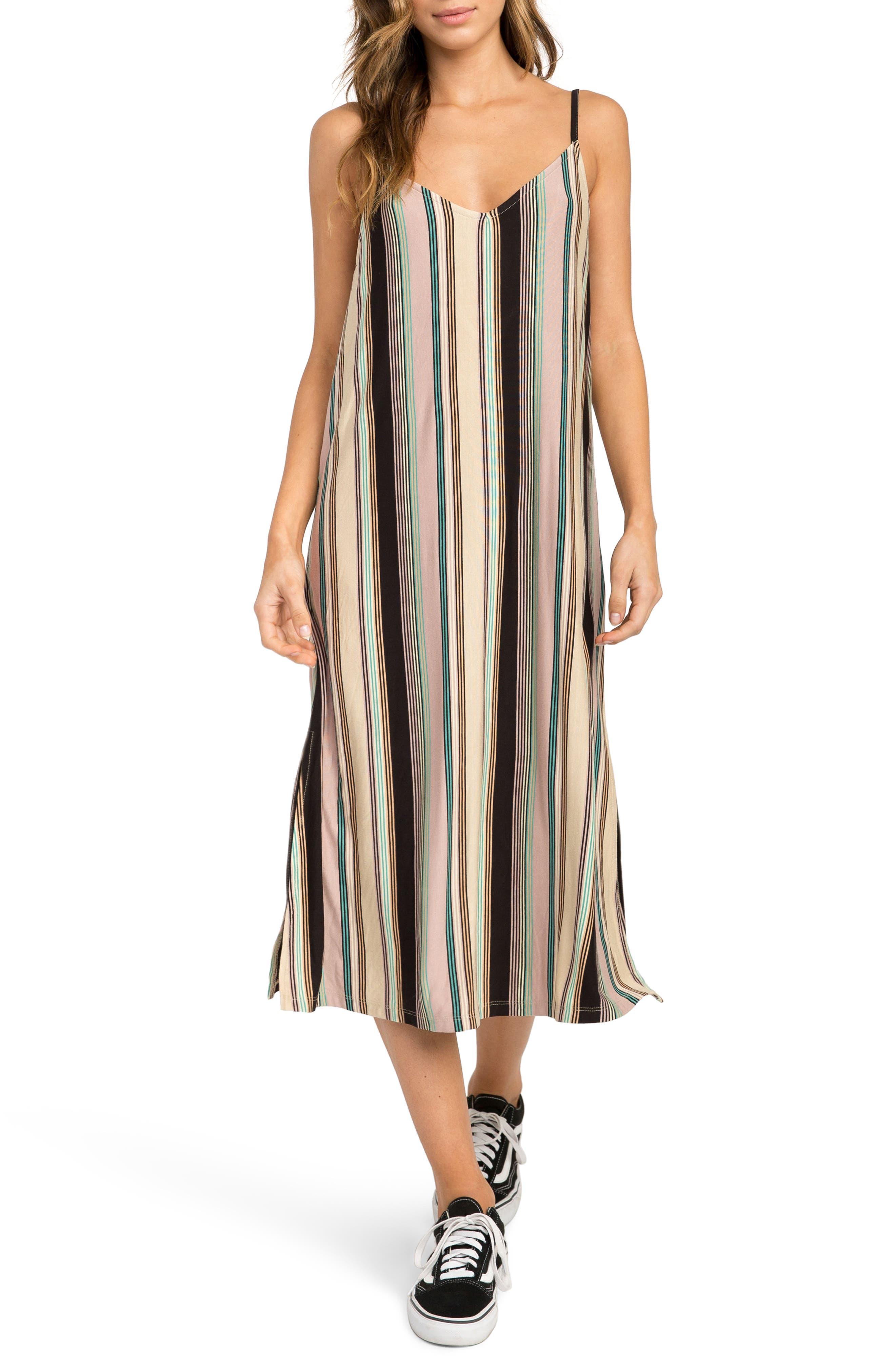 Jasmine Stripe Midi Dress,                             Main thumbnail 1, color,