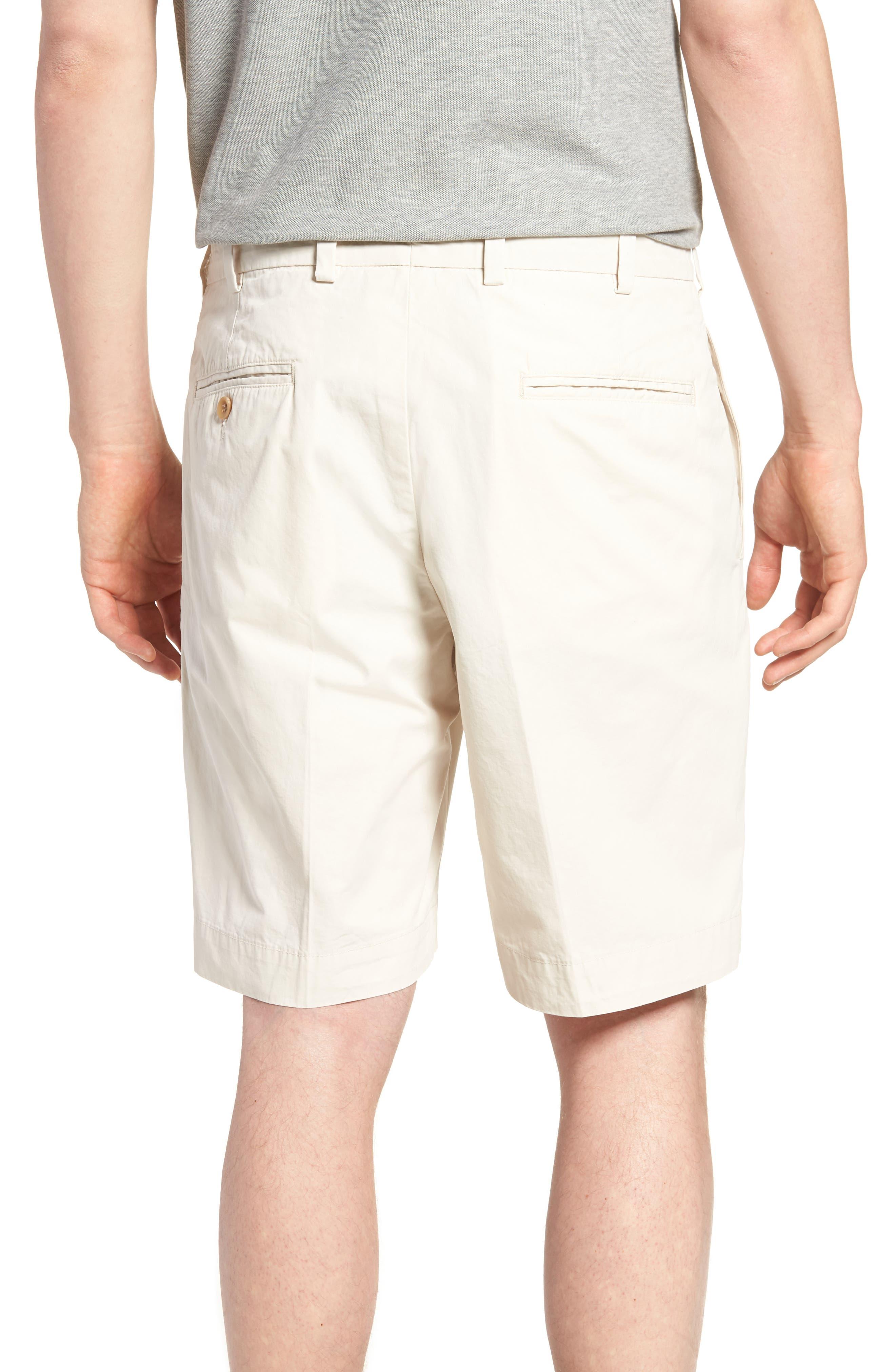 M2 Standard Fit Flat Front Tropical Cotton Poplin Shorts,                             Alternate thumbnail 2, color,                             280