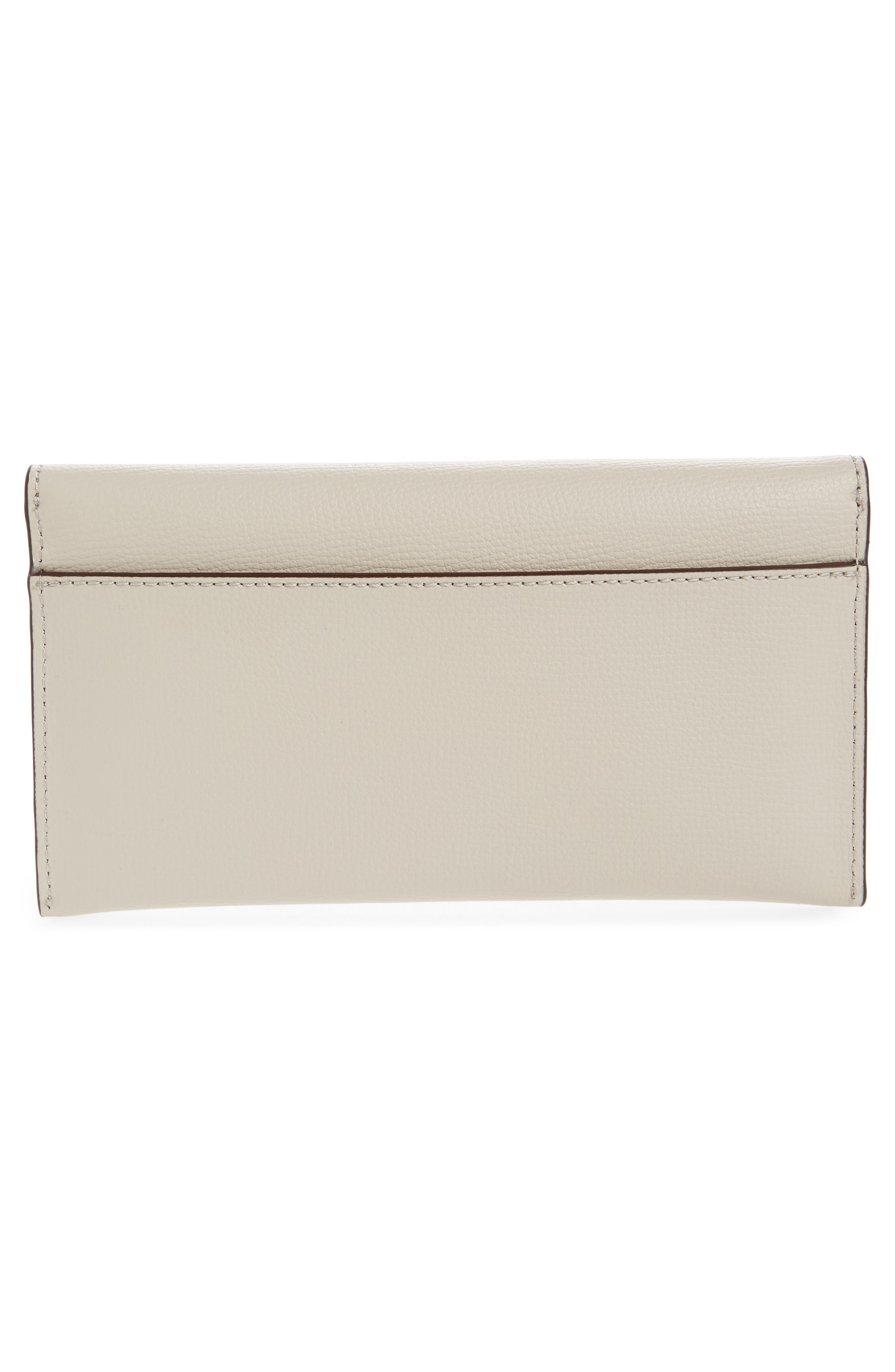 Everything Embellished Leather Wallet,                             Alternate thumbnail 3, color,